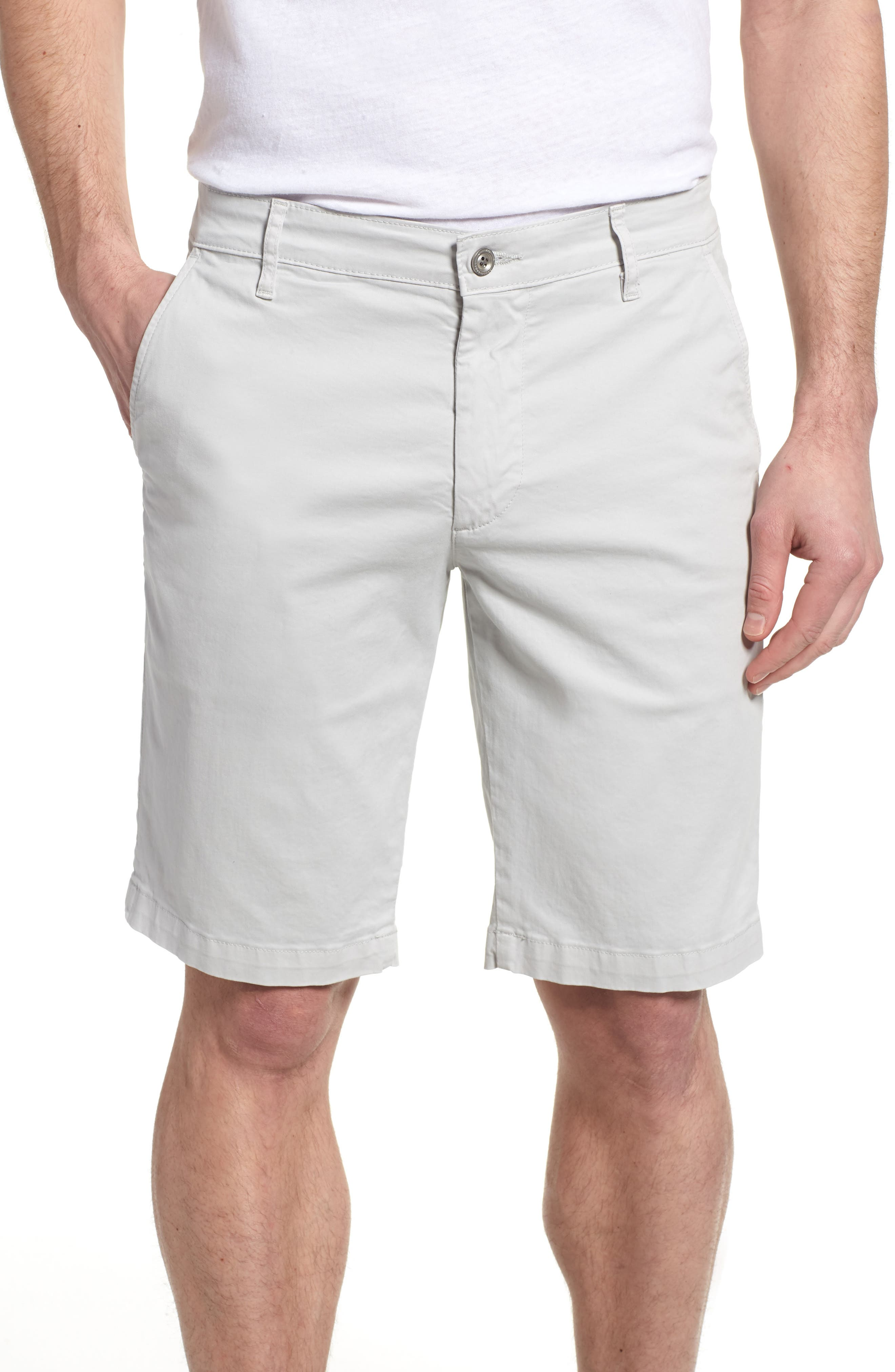 'Griffin' Chino Shorts,                             Main thumbnail 1, color,                             PALE CINDER