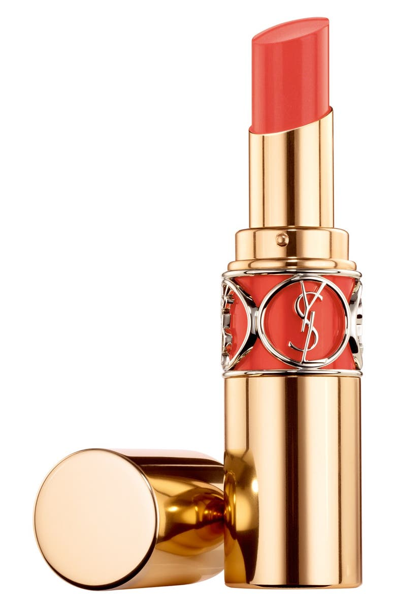Shop Saint Laurent Rouge Volupte Shine Oil In Stick Lipstick 14 Yves Baby Doll Kiss Ampamp Blush 05 Effrontee Corail Touch