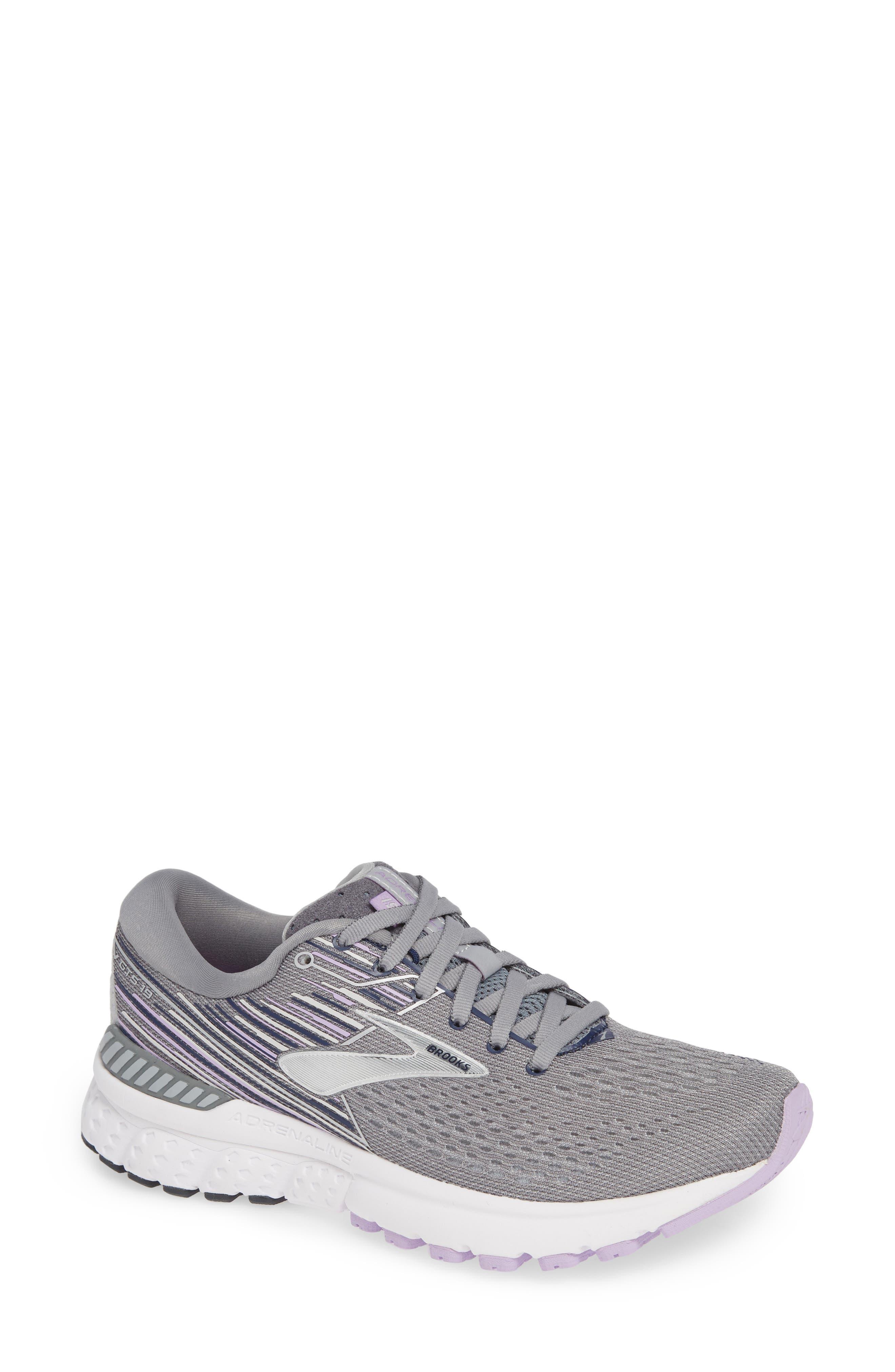 Brooks Adrenaline Gts 19 Running Shoe, Grey