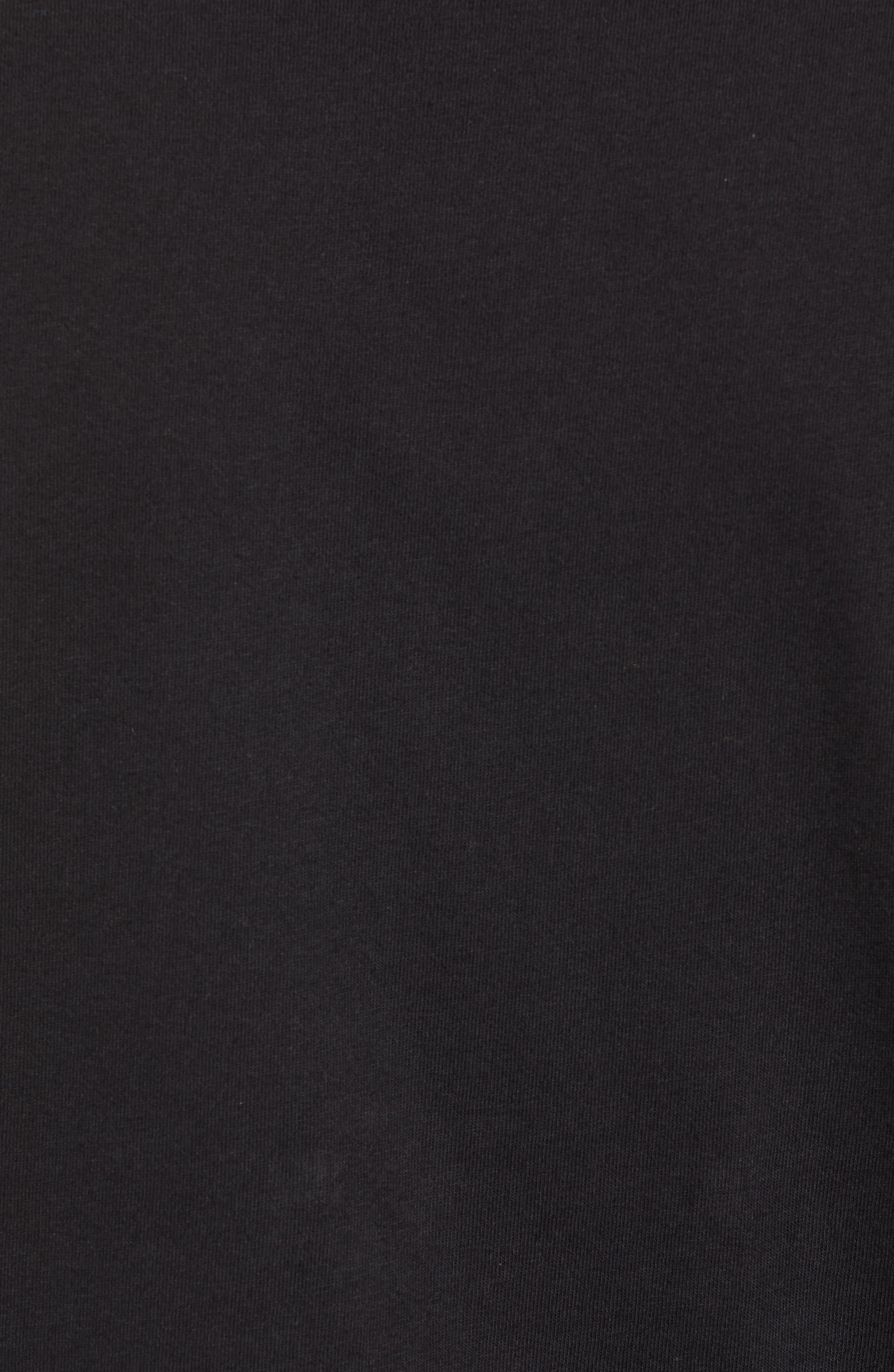 Community Sleeveless T-Shirt,                             Alternate thumbnail 5, color,                             RAINBOW GRADIENT BLACK