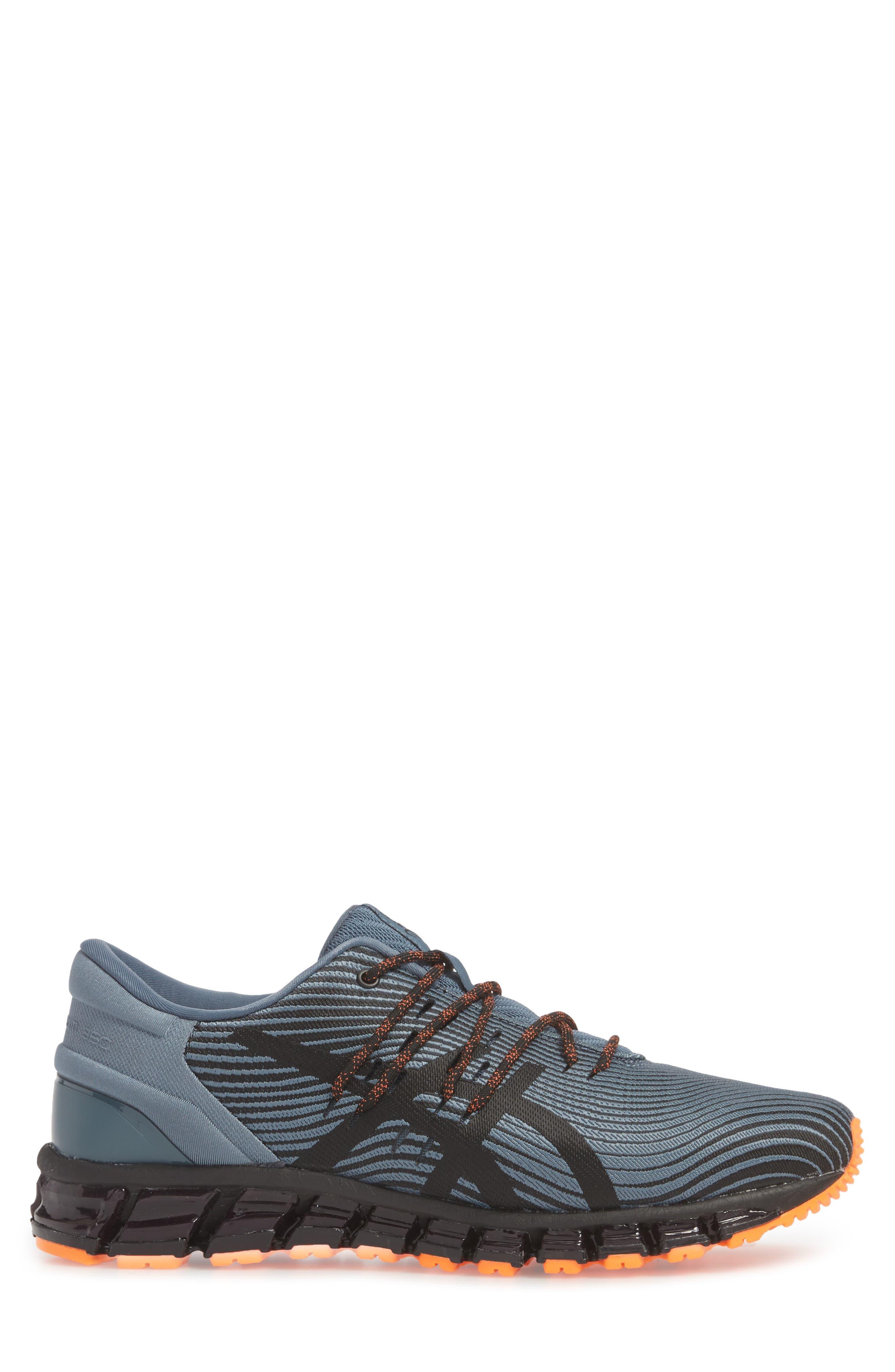GEL-Quantum 360 4 Running Shoe,                             Alternate thumbnail 3, color,                             IRON CLAD/ BLACK