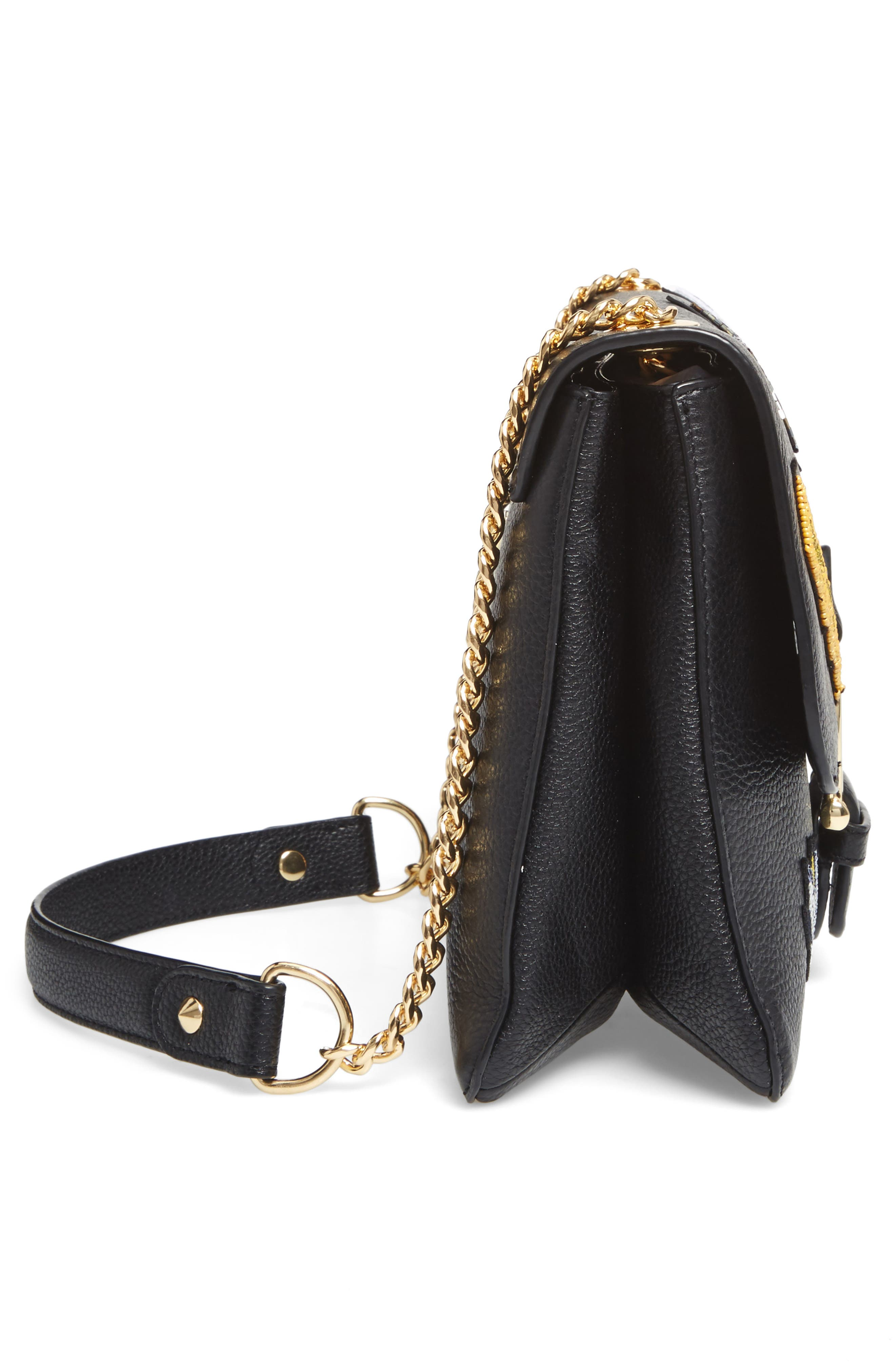 Asher Shoulder Bag,                             Alternate thumbnail 5, color,                             001
