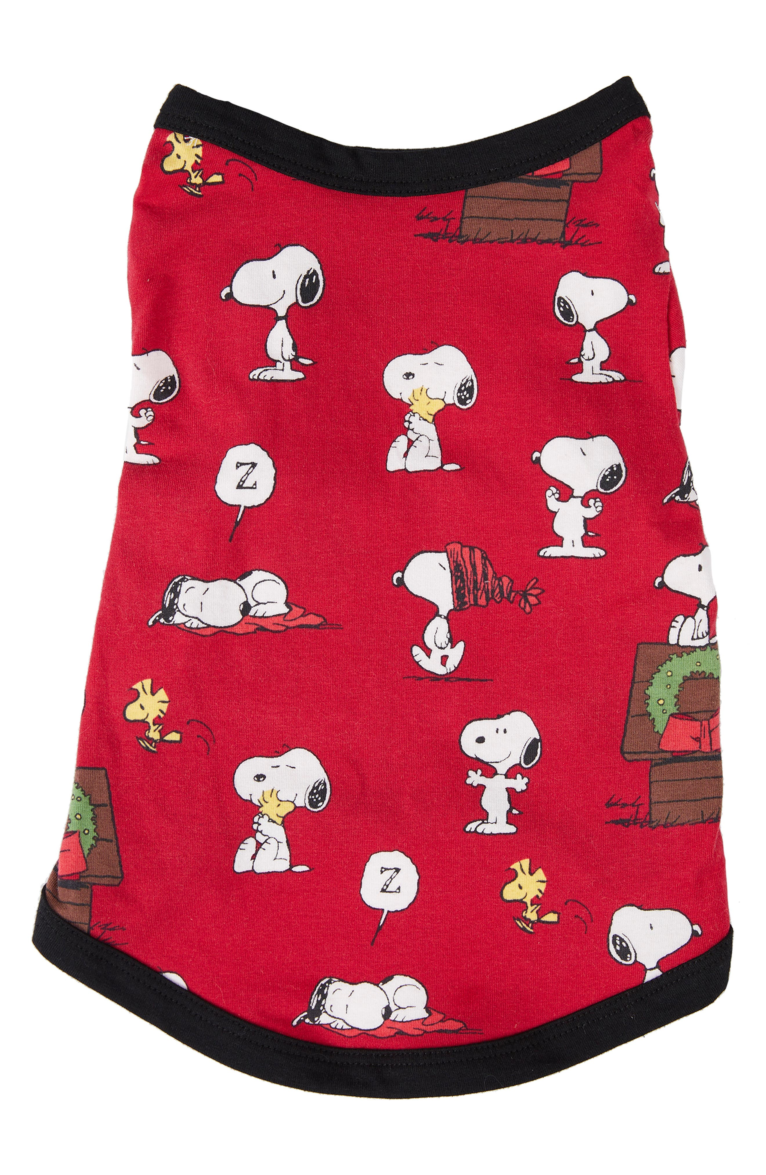Dog Pajamas,                             Alternate thumbnail 2, color,                             SNOOPYS CHRISTMAS 4136