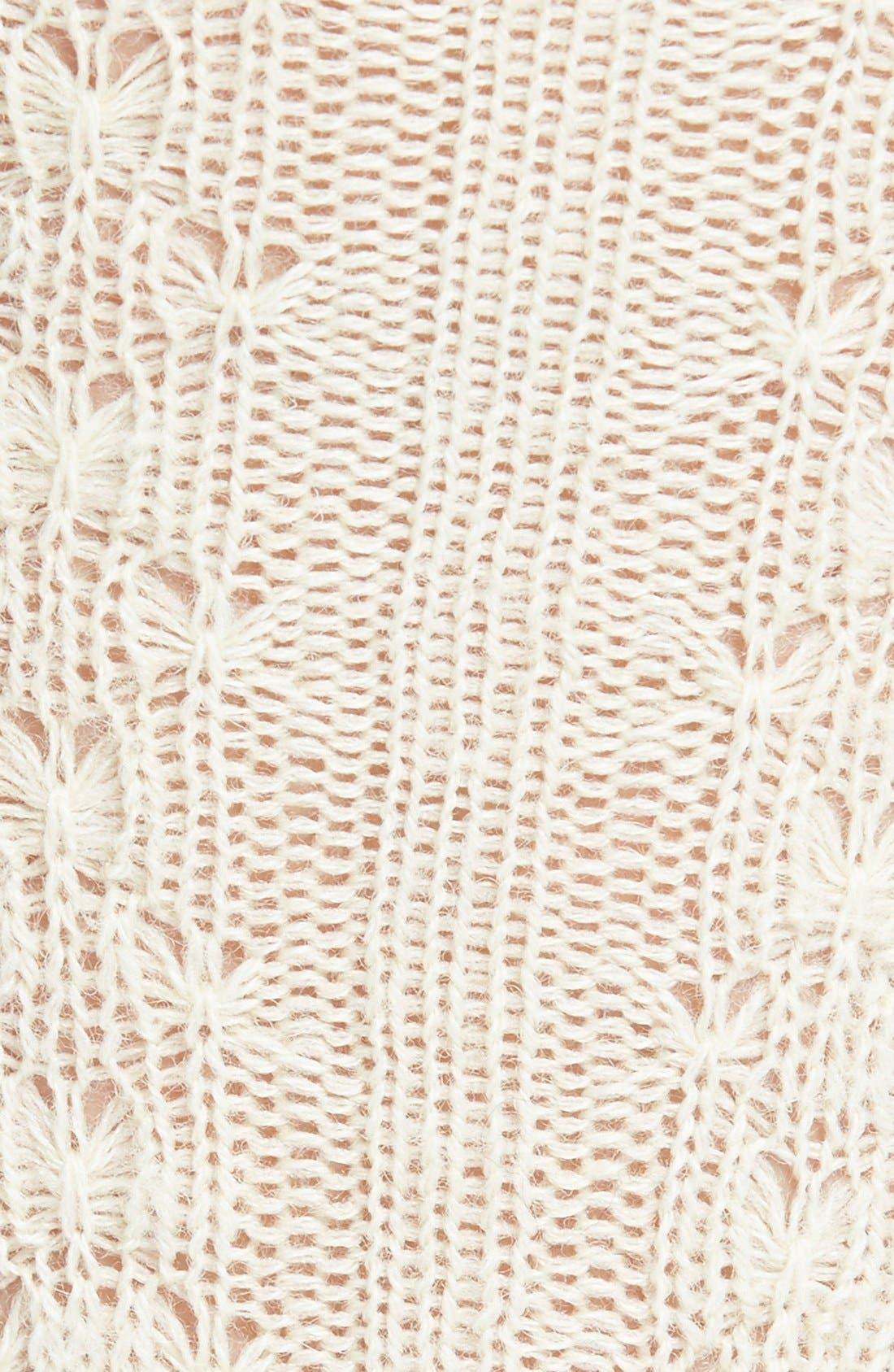 Cable Knit Knee Socks,                             Alternate thumbnail 7, color,