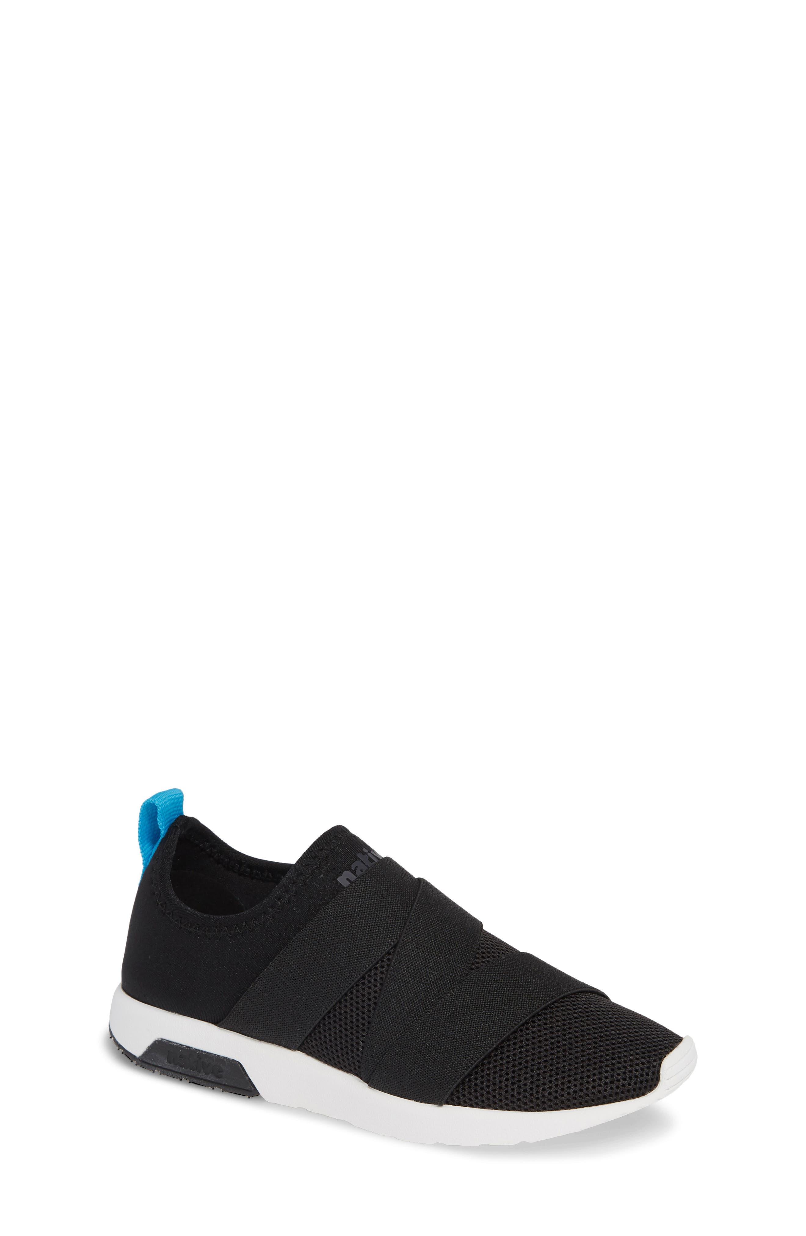 Phoenix Slip-On Sneaker,                         Main,                         color, JIFFY BLACK/ SHELL WHITE