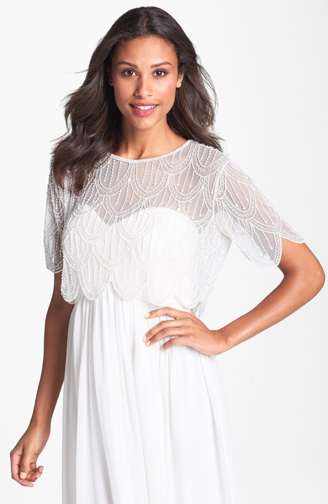 Beaded Over Layer,                         Main,                         color, 900