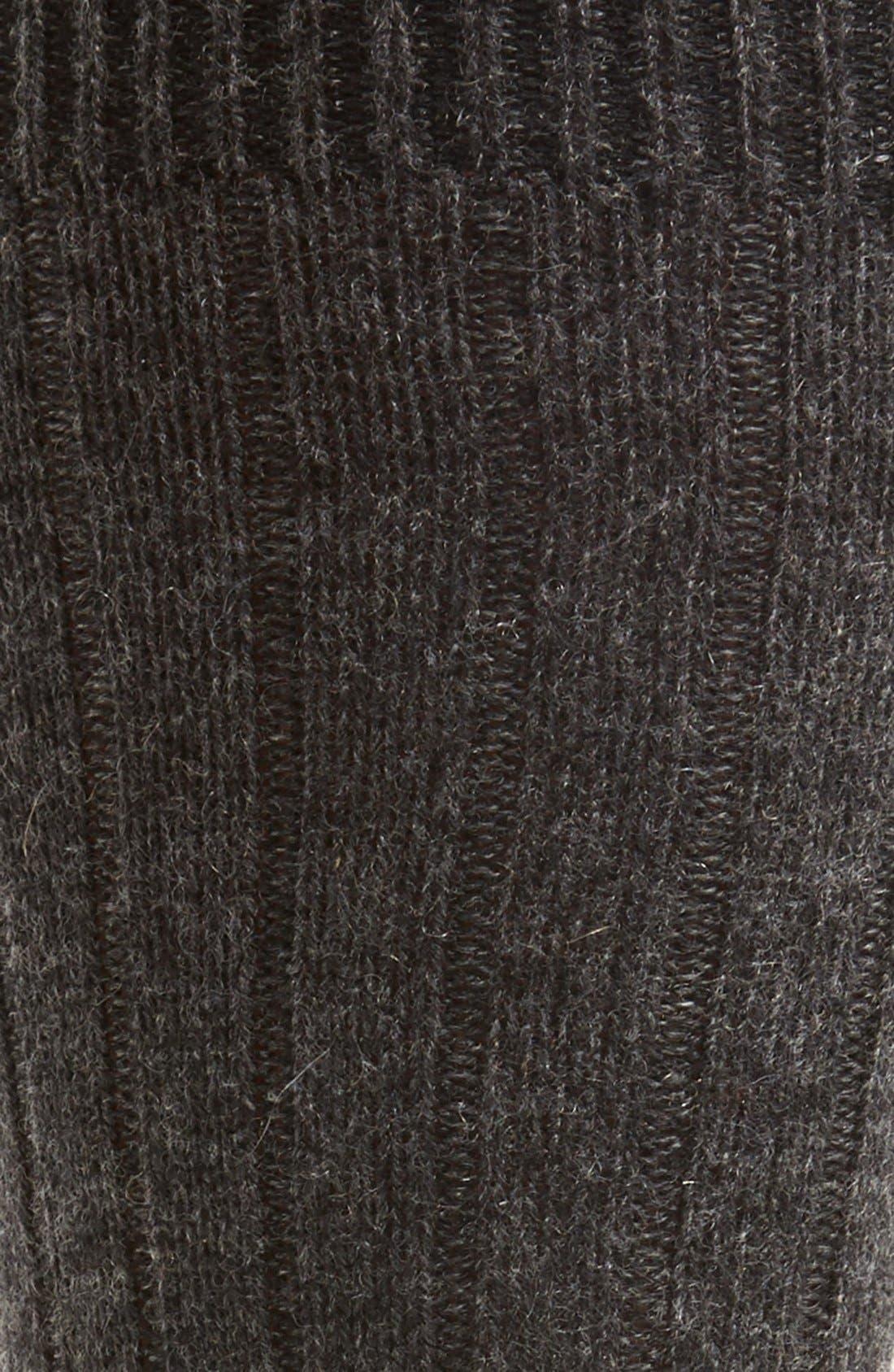 'Waddington' Cashmere Blend Mid Calf Socks,                             Alternate thumbnail 15, color,