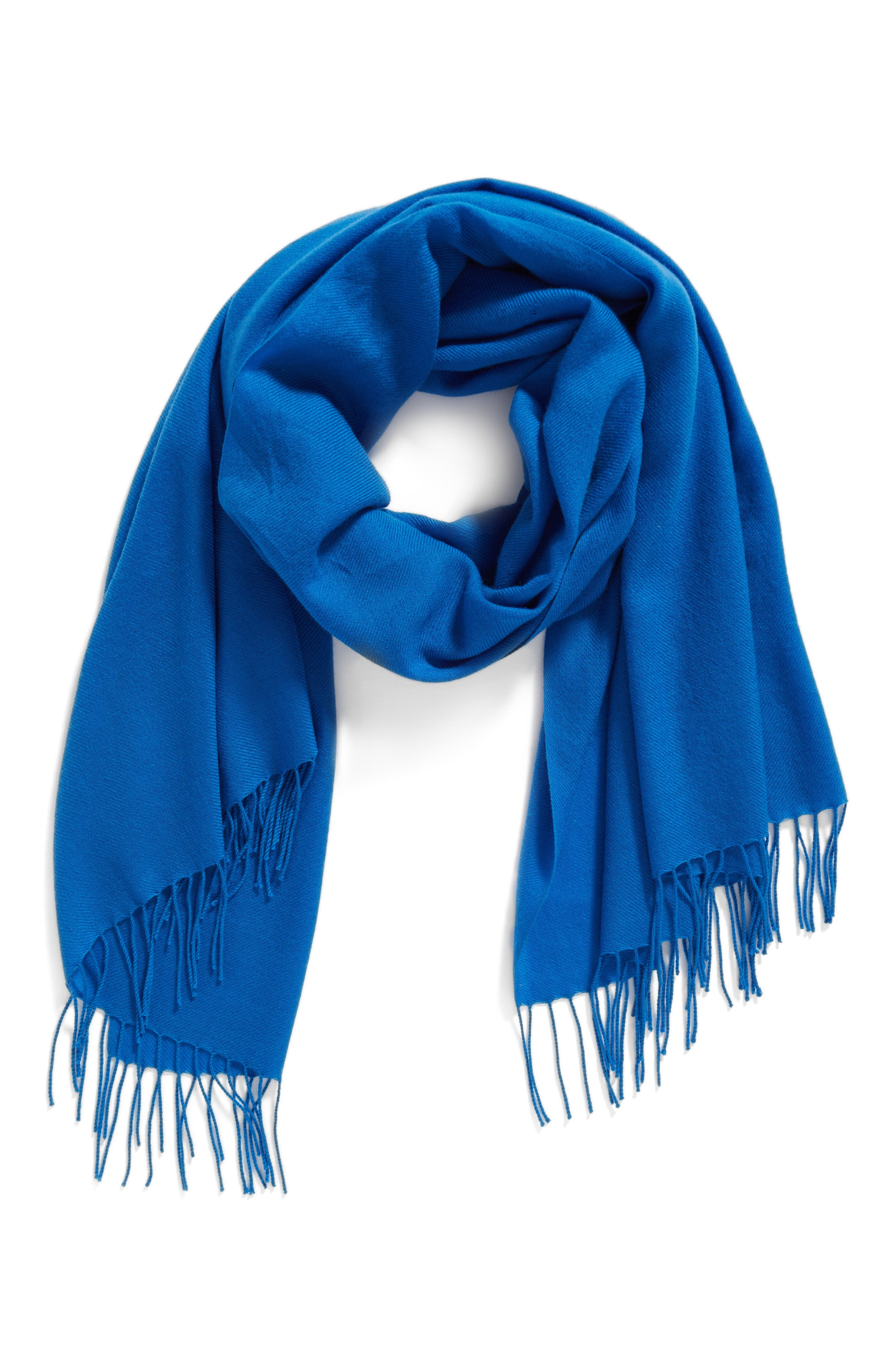 Tissue Weight Wool & Cashmere Scarf,                             Alternate thumbnail 104, color,