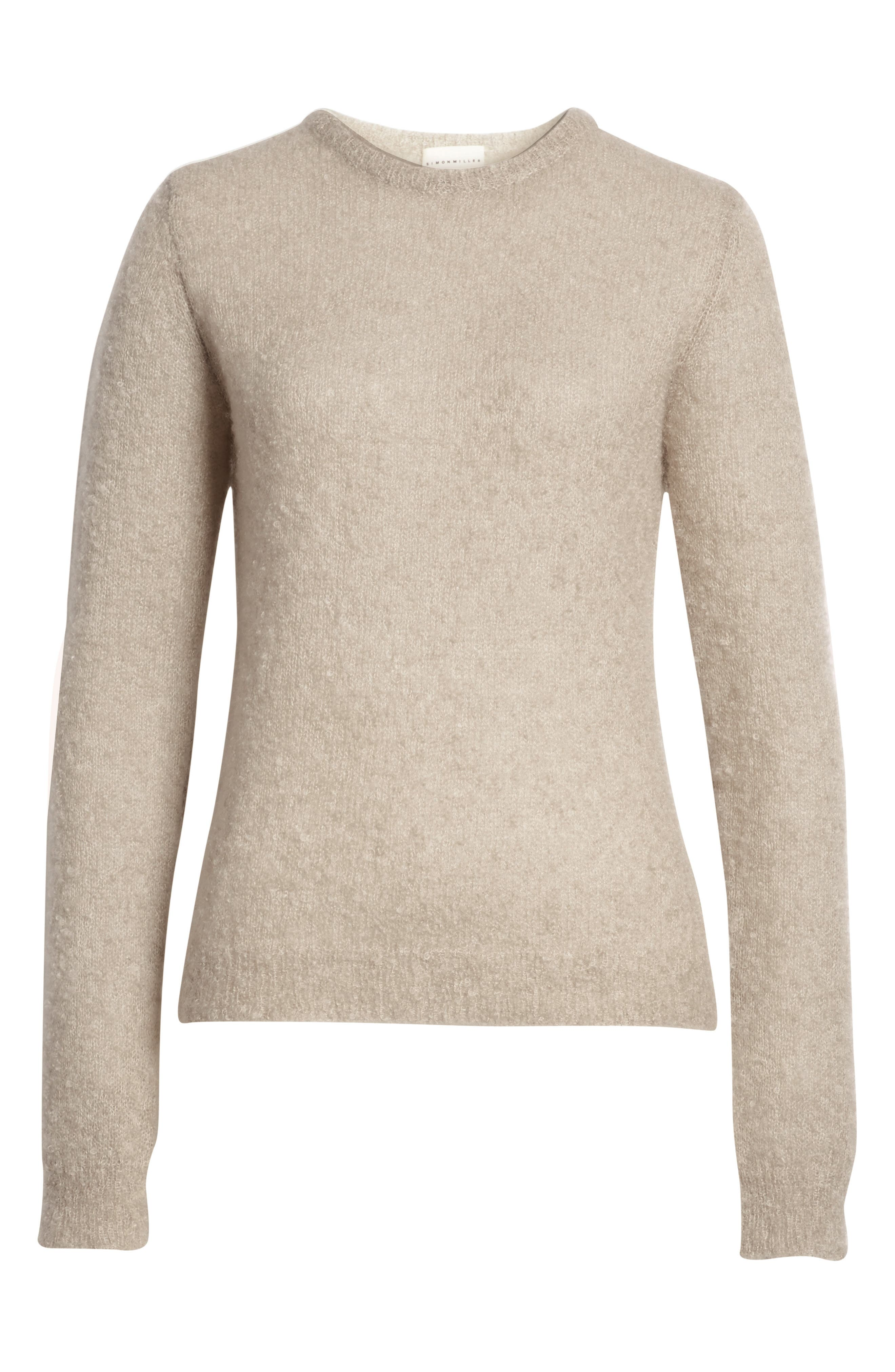 Tatum Mohair & Silk Sweater,                             Alternate thumbnail 6, color,                             020