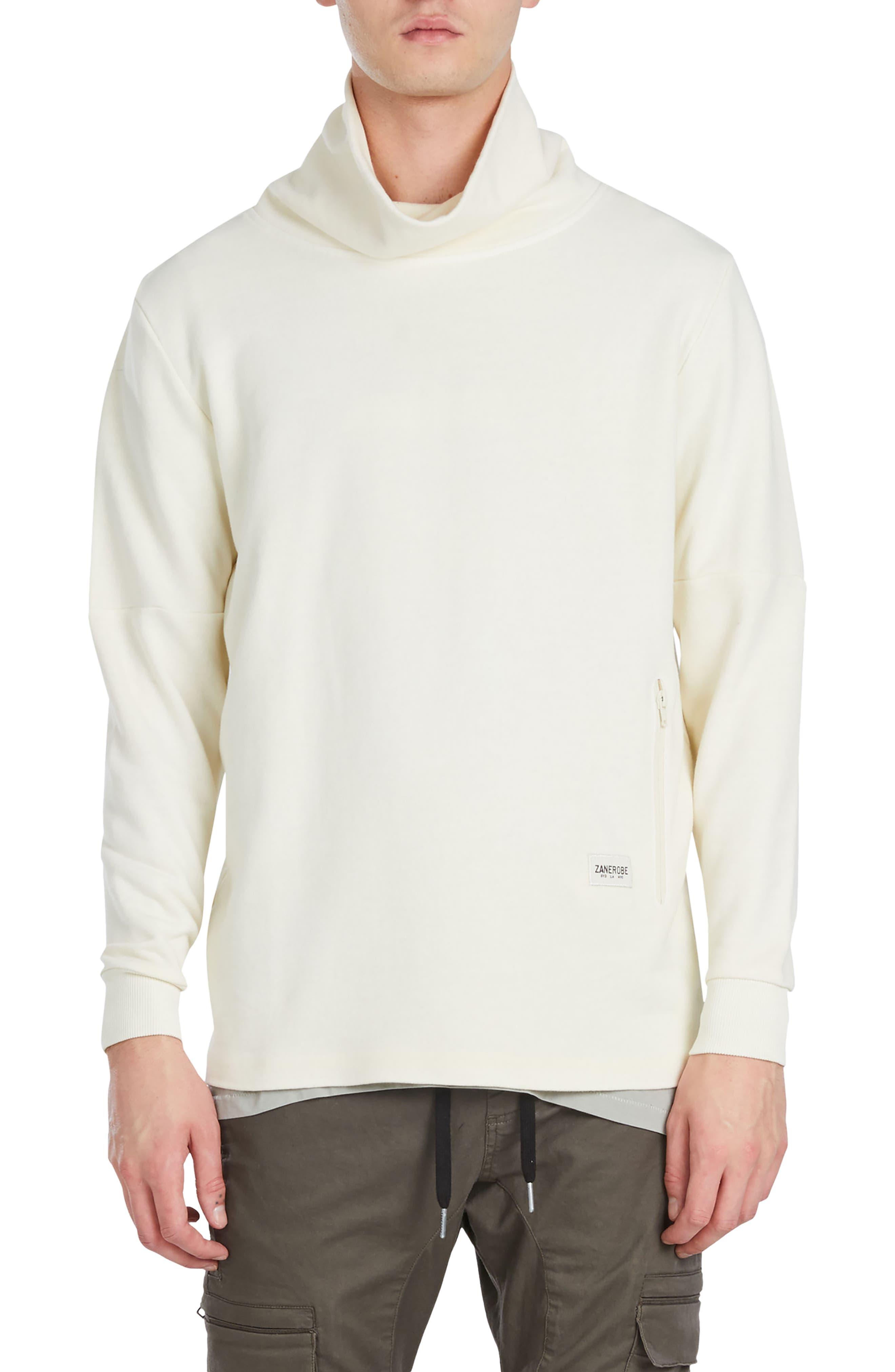 Mock Neck Sweatshirt,                             Main thumbnail 2, color,