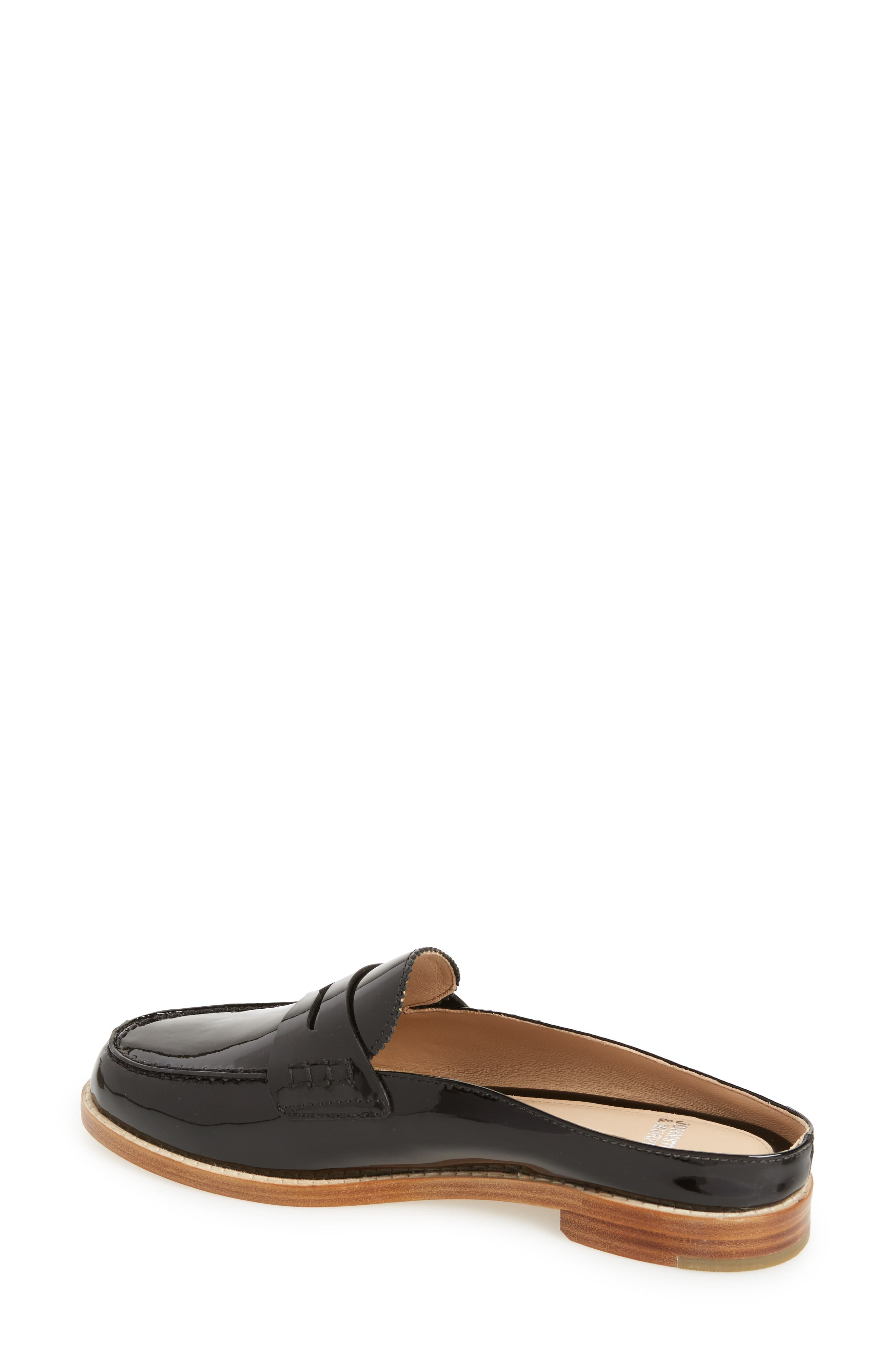Giada Loafer Mule,                             Alternate thumbnail 2, color,                             BLACK PATENT