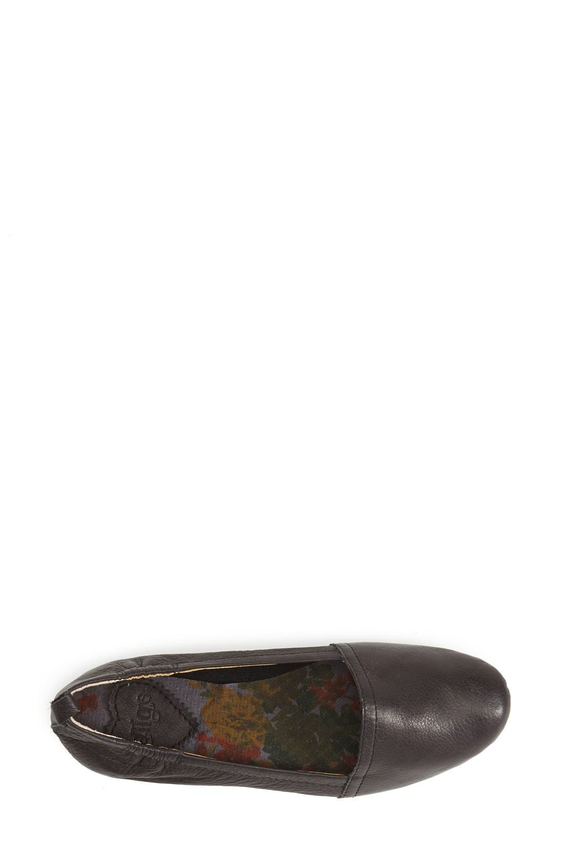 'Bettie' Leather Flat,                             Alternate thumbnail 17, color,