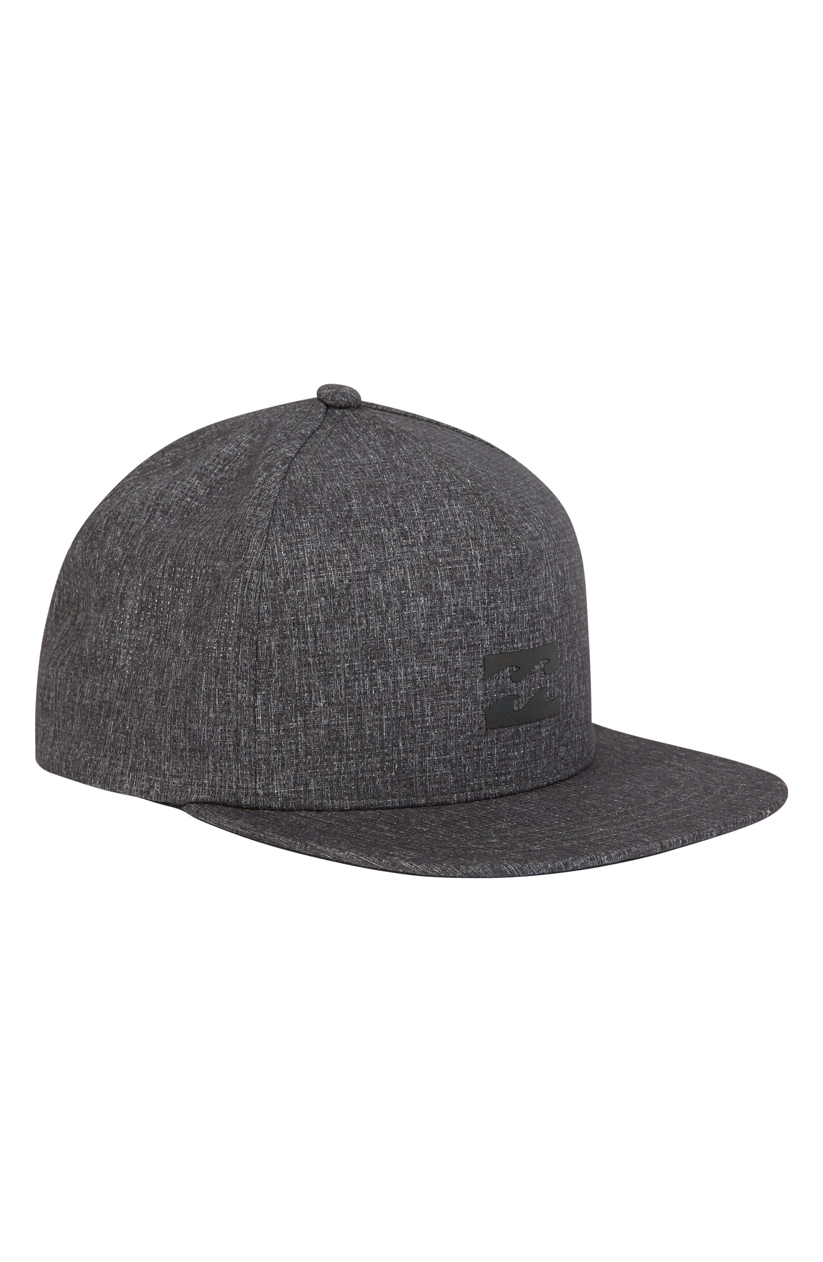 Surftrek Trucker Hat,                         Main,                         color, BLACK HEATHER
