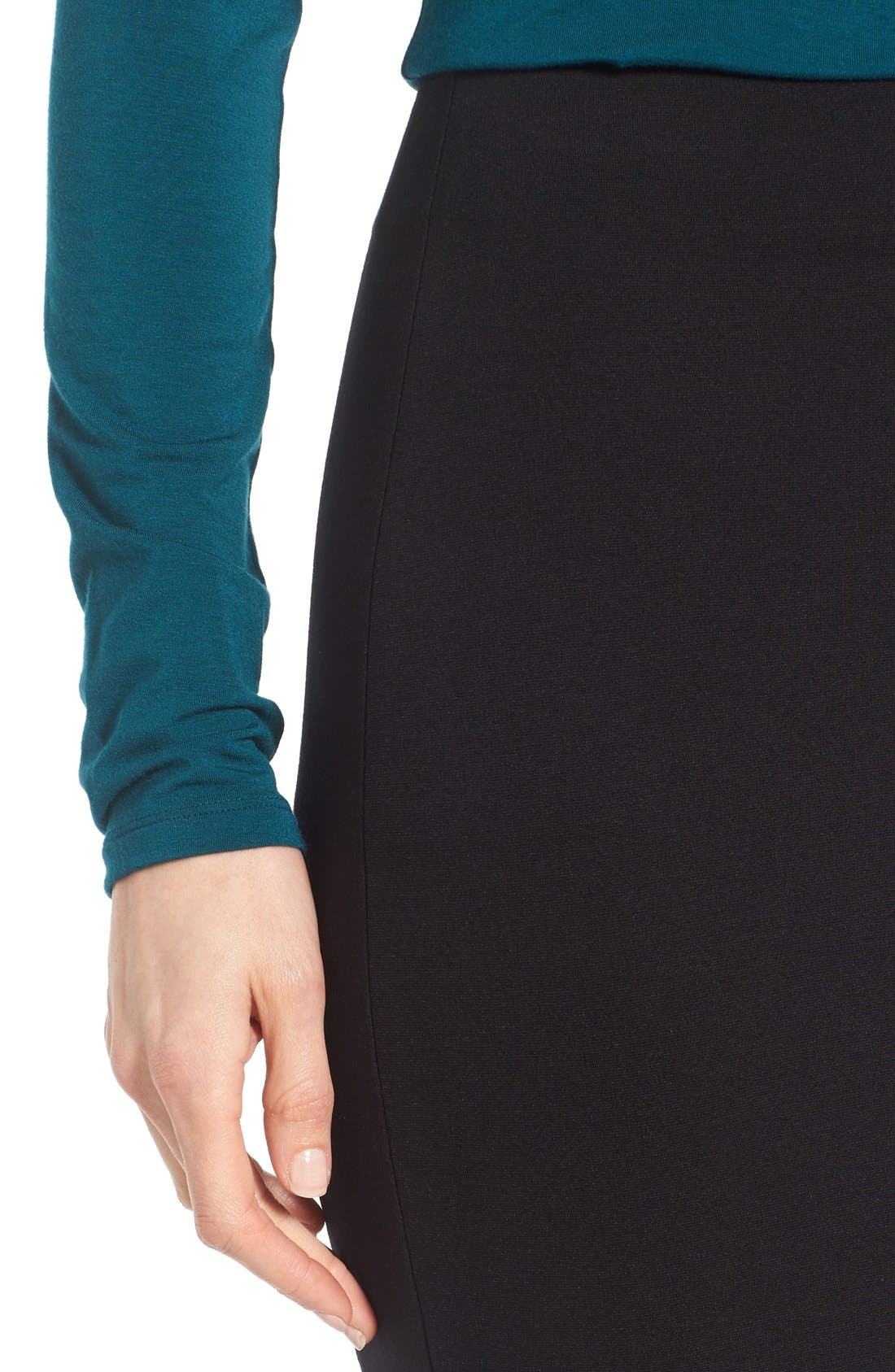 Ponte Midi Skirt,                             Alternate thumbnail 13, color,
