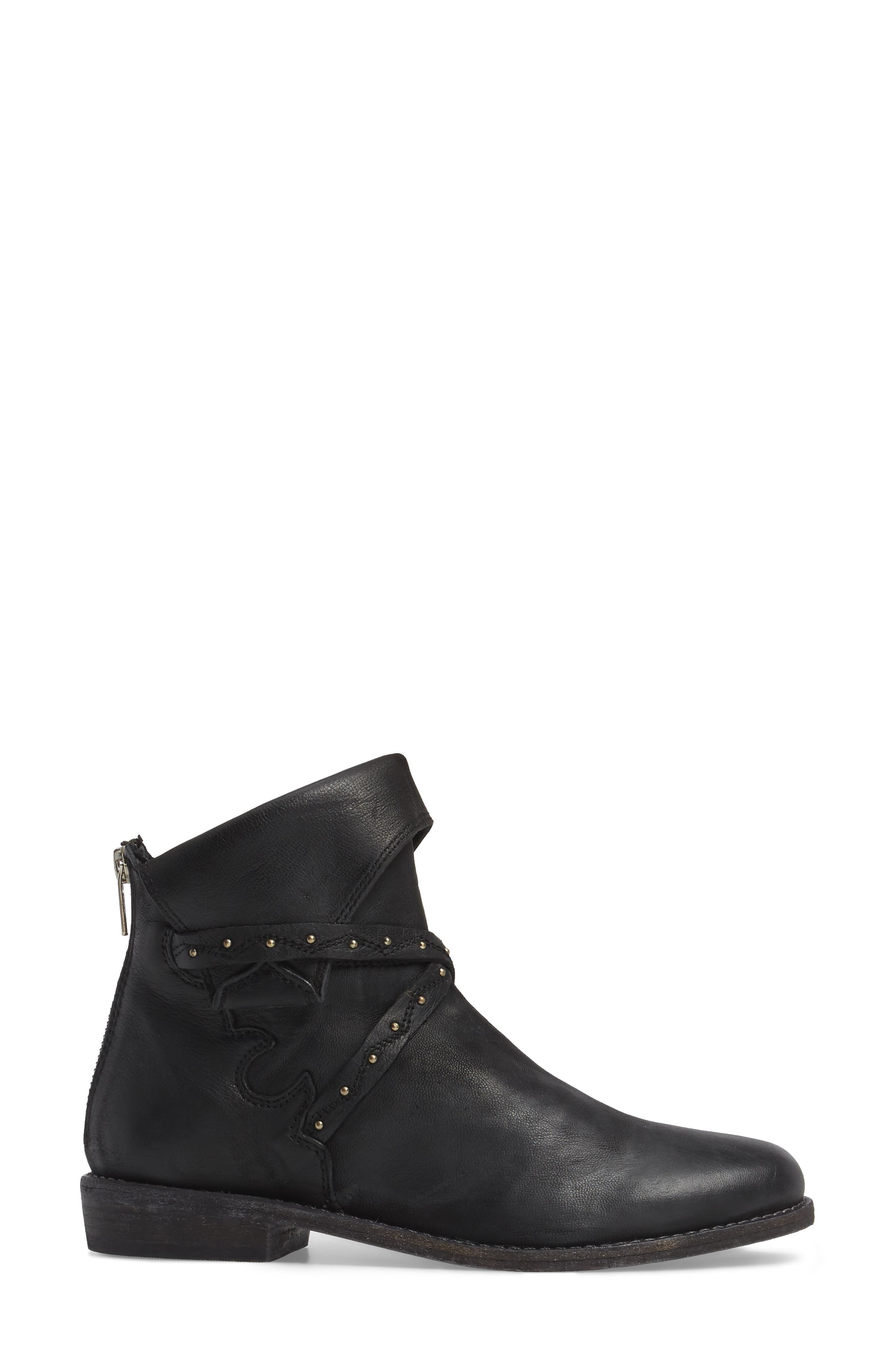 Alamosa Slouchy Bootie,                             Alternate thumbnail 3, color,                             001