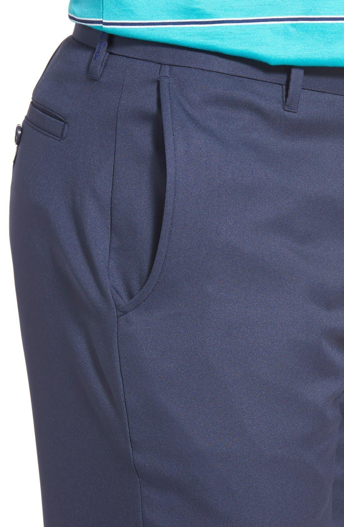 'Tech' Flat Front Wrinkle Free Golf Pants,                             Alternate thumbnail 17, color,