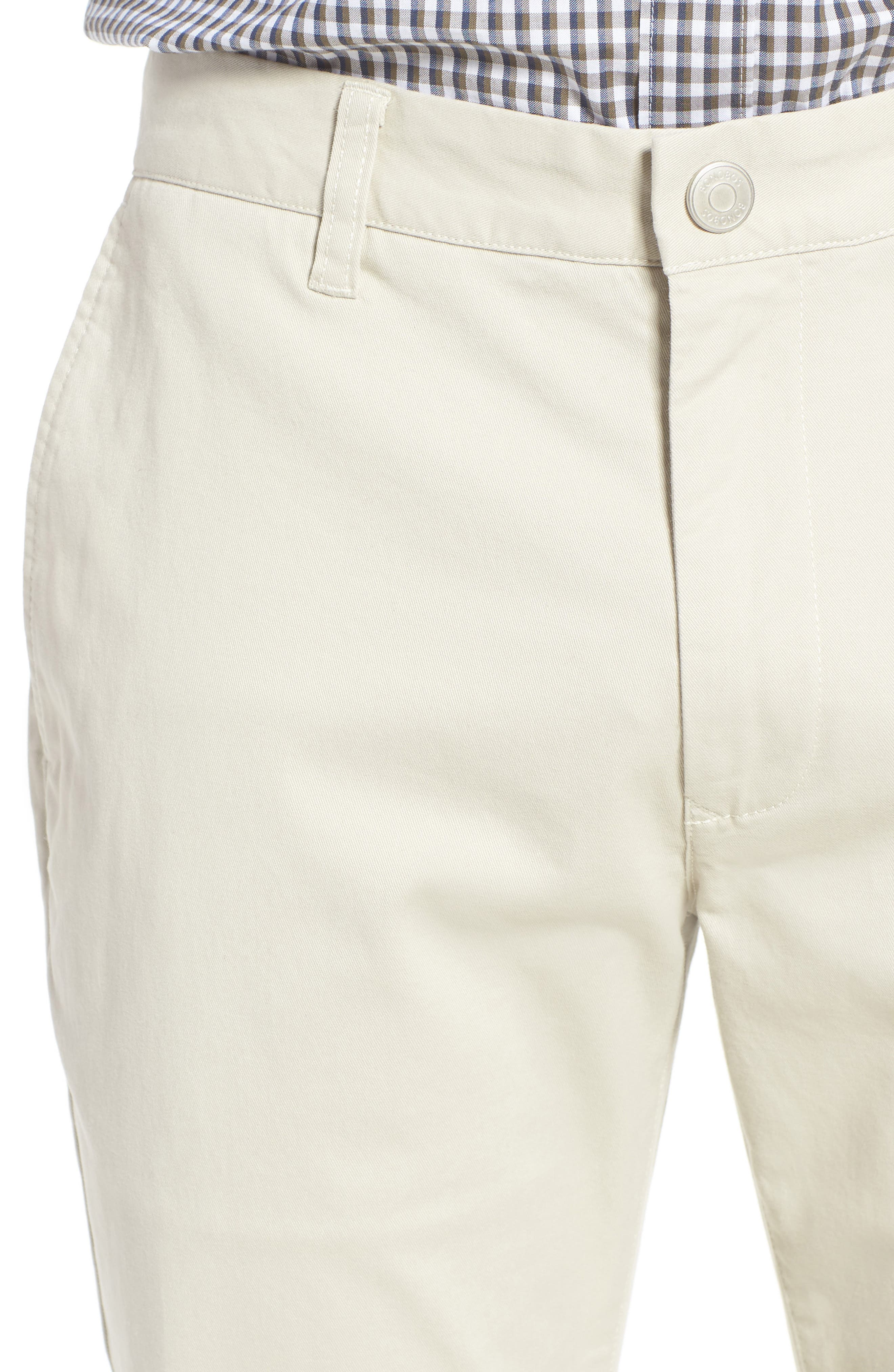 Tailored Fit Washed Stretch Cotton Chinos,                             Alternate thumbnail 134, color,