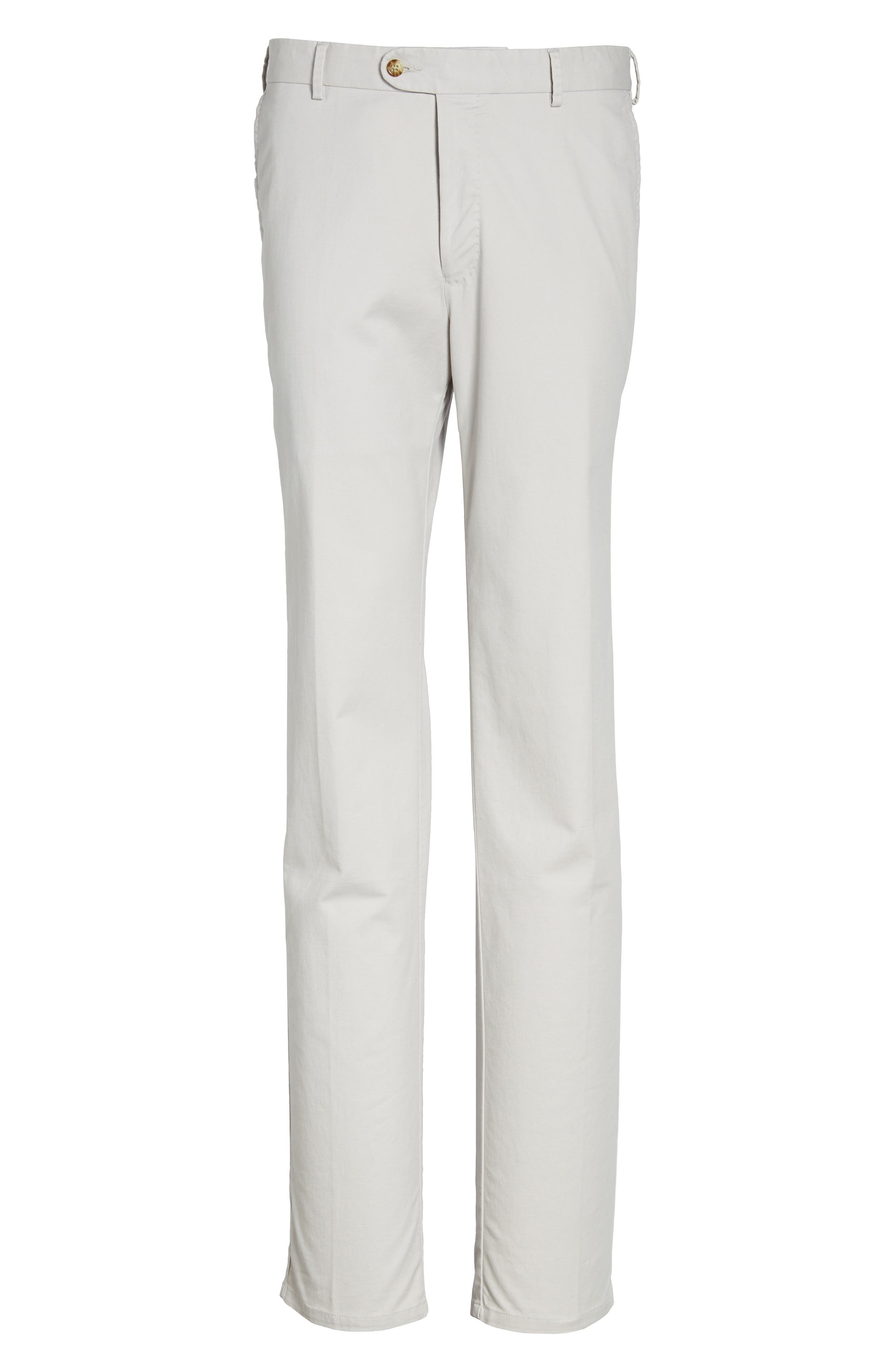 Twill Pants,                             Alternate thumbnail 6, color,                             LIGHT GREY