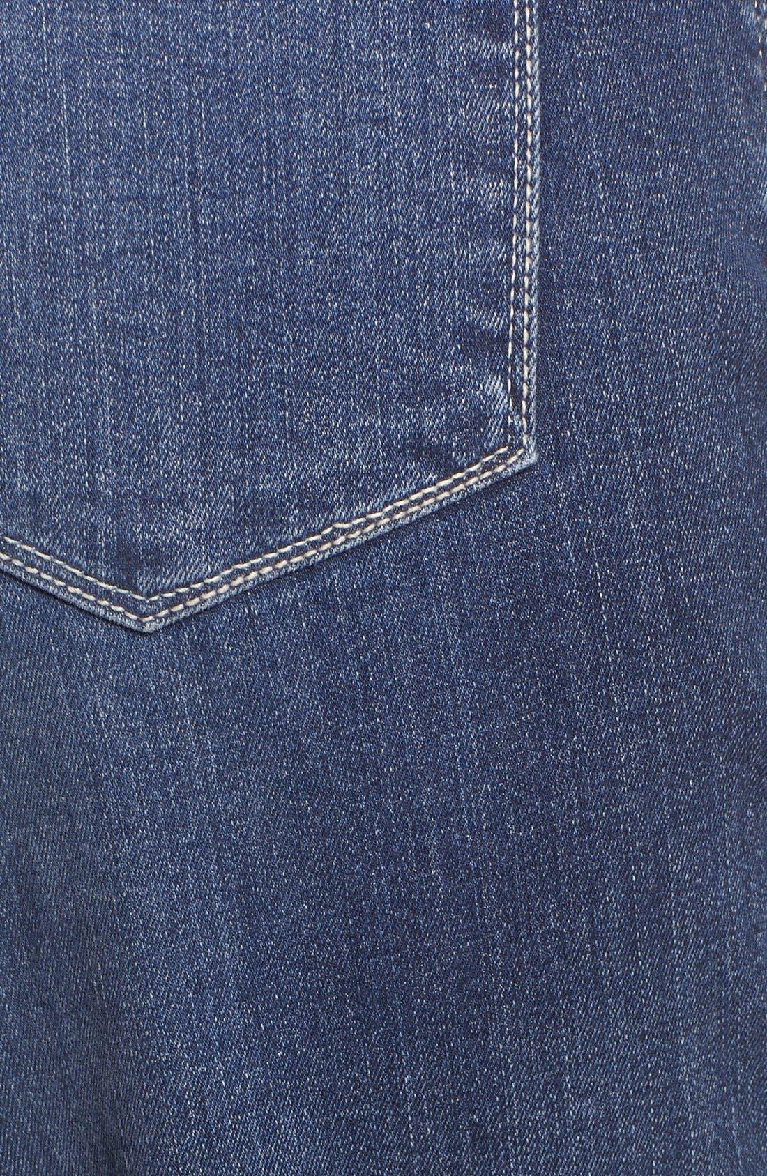 'Dayla' Colored Wide Cuff Capri Jeans,                             Alternate thumbnail 78, color,