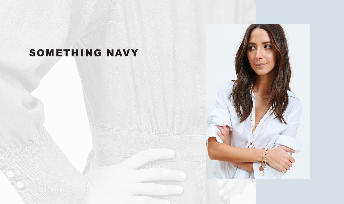 Something Navy spring staples are here.