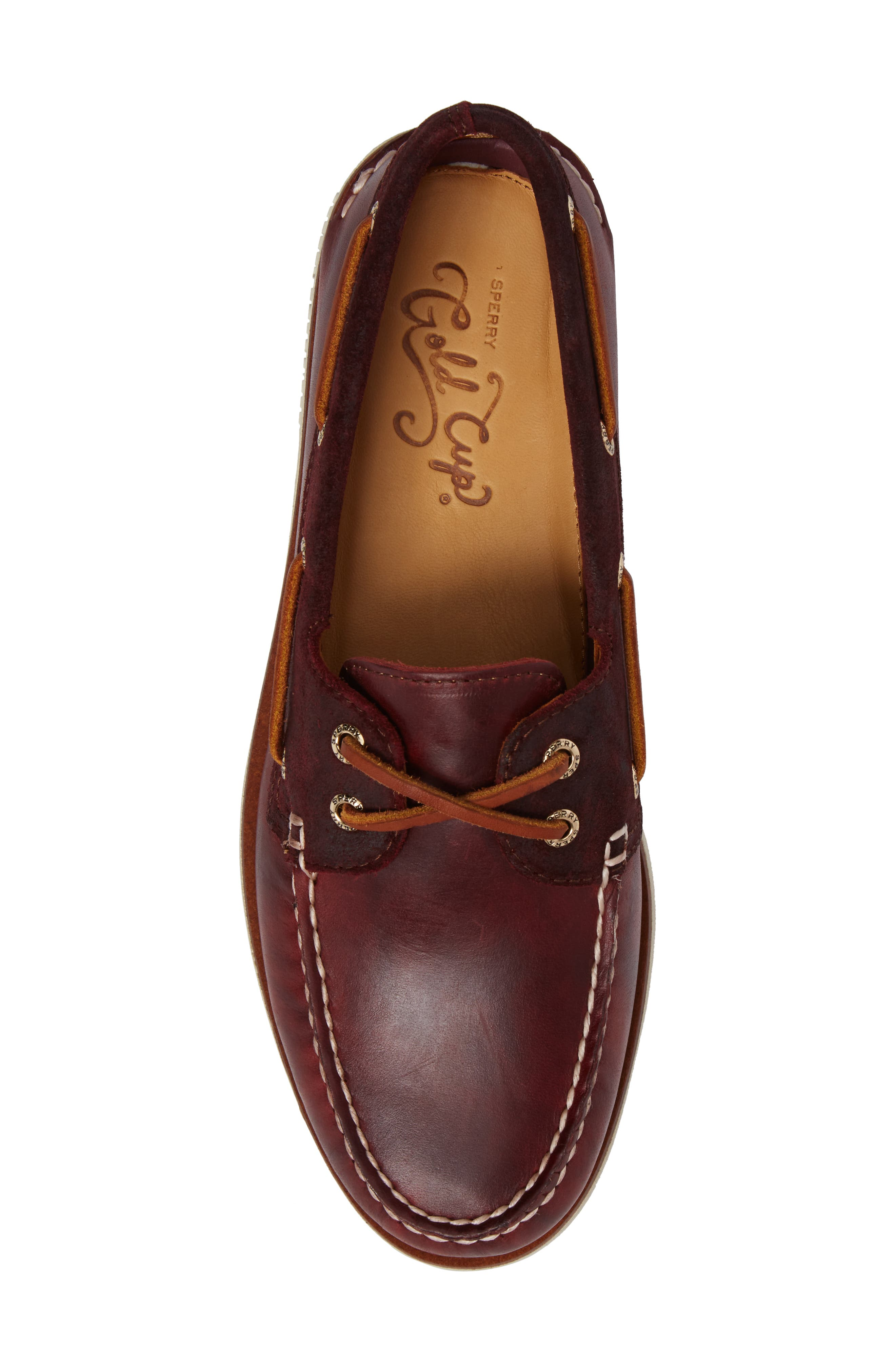 Gold Cyclone Boat Shoe,                             Alternate thumbnail 5, color,                             931