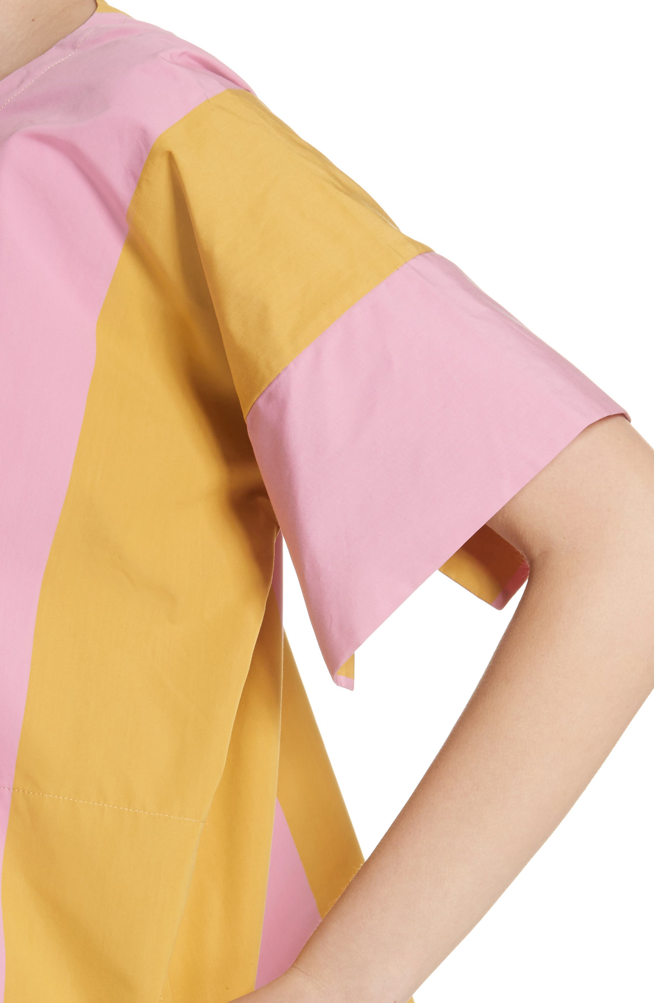 T-Top Side Slit Blouse,                             Alternate thumbnail 4, color,                             650