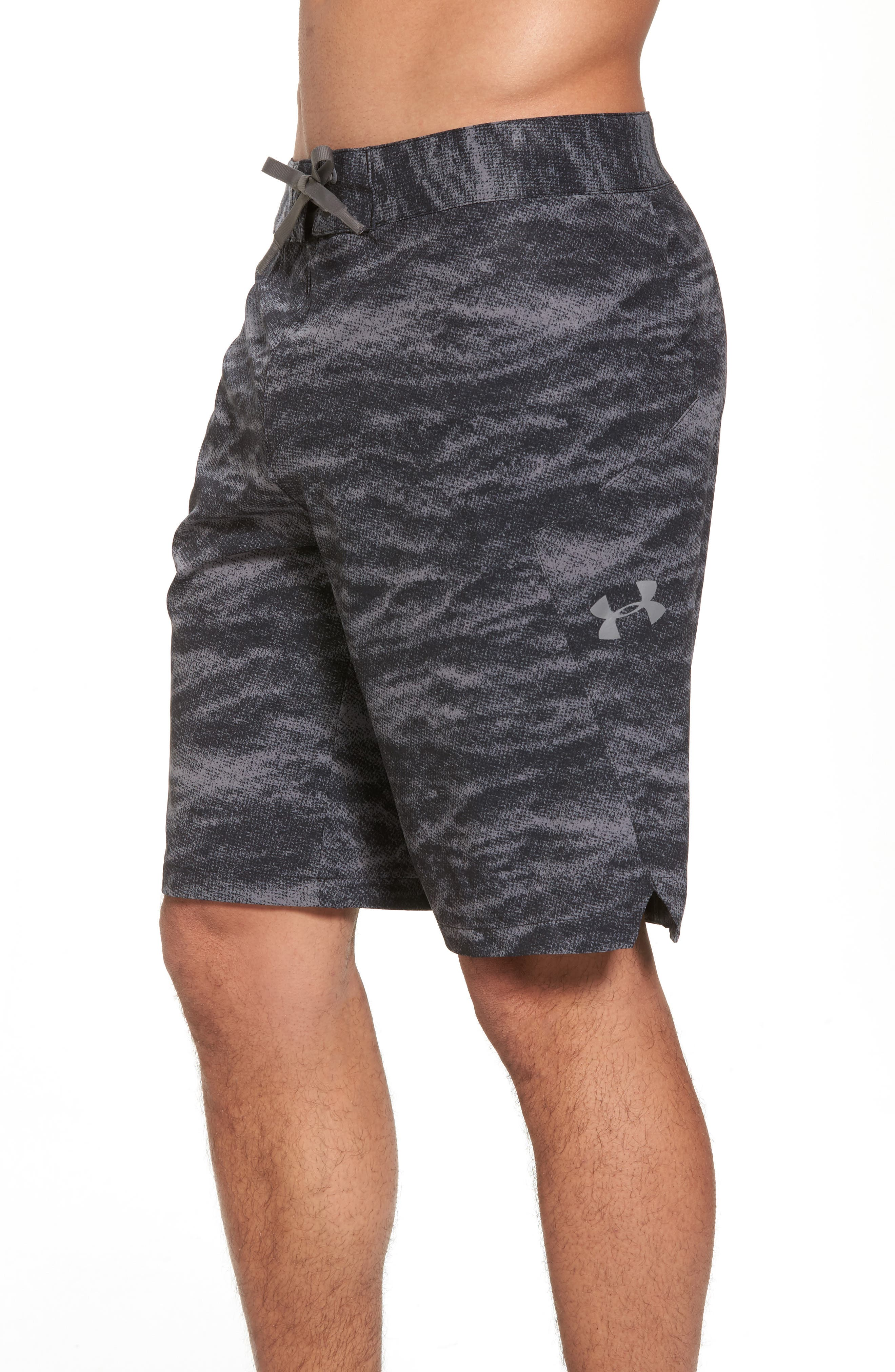 UNDER ARMOUR,                             Print Board Shorts,                             Alternate thumbnail 4, color,                             004