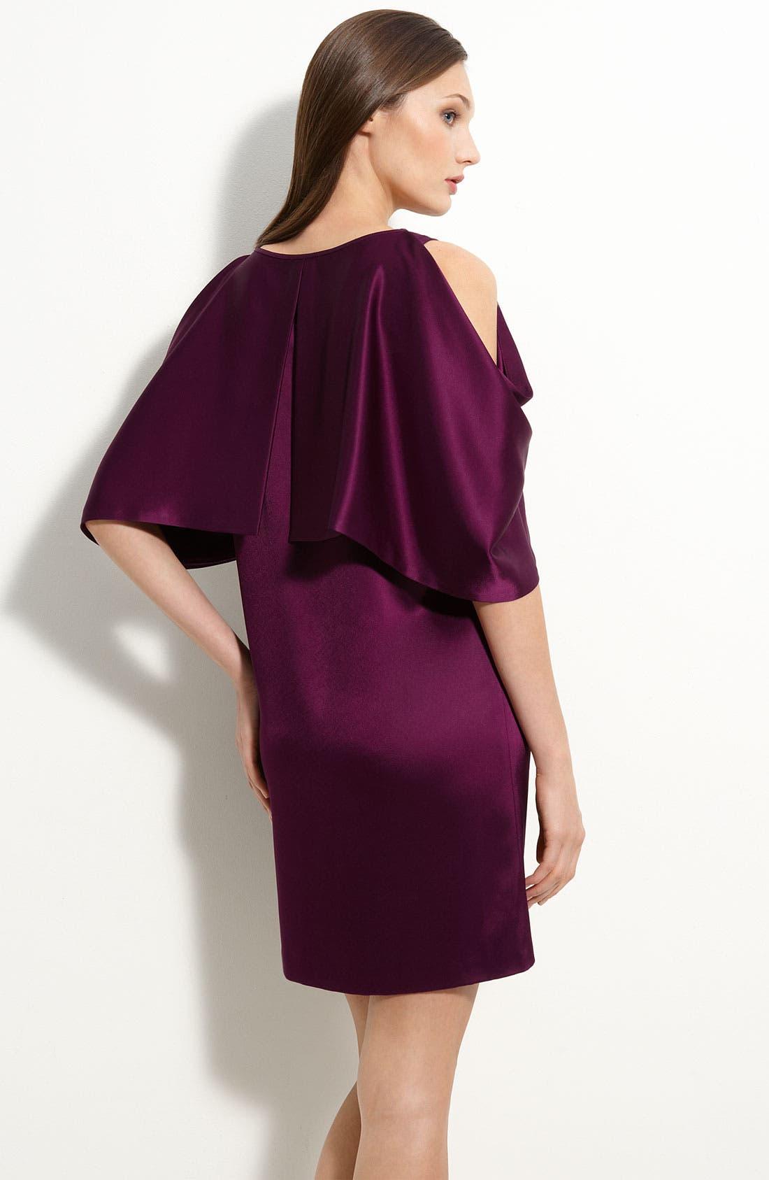 Cold Shoulder Dress,                             Alternate thumbnail 2, color,                             555
