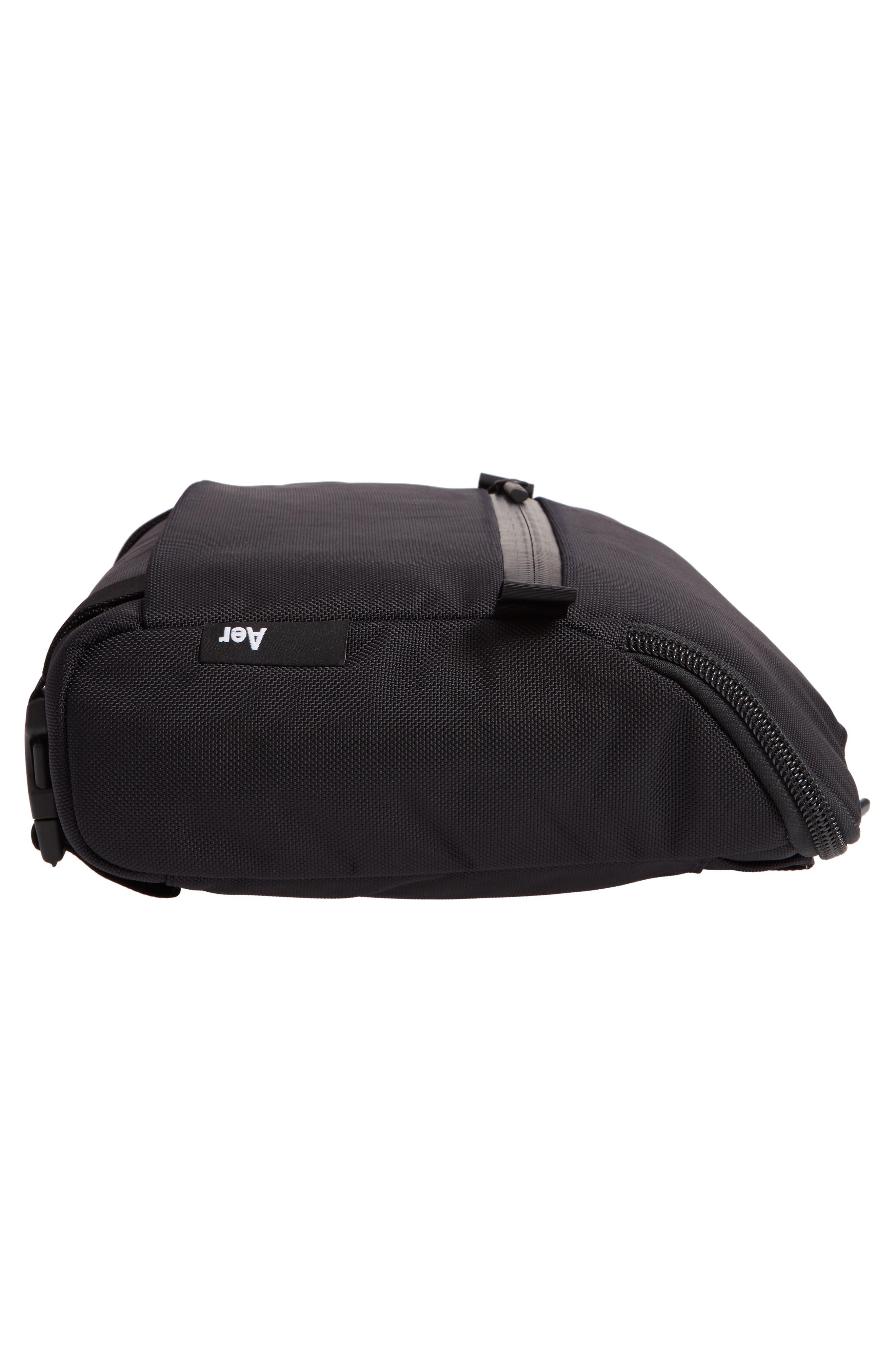 Travel Sling Crossbody Bag,                             Alternate thumbnail 6, color,                             BLACK