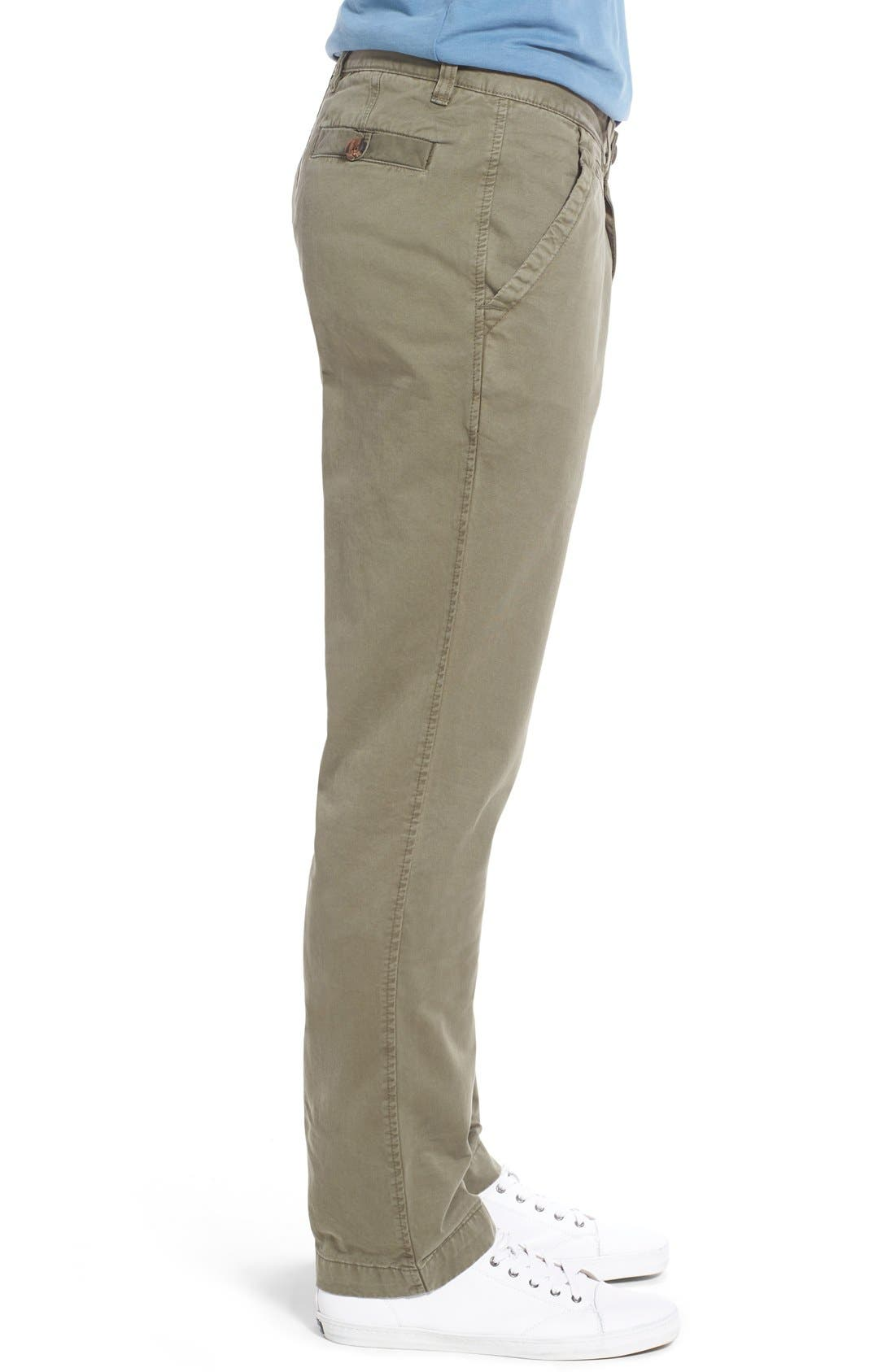'Sahara' Trim Fit Vintage Washed Twill Chinos,                             Alternate thumbnail 22, color,