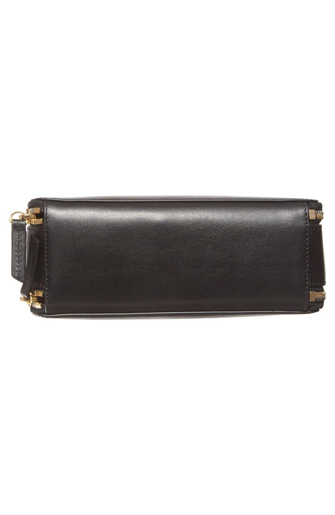 WANT LES ESSENTIELS,                             'Demiranda' Leather Shoulder Bag,                             Alternate thumbnail 4, color,                             001