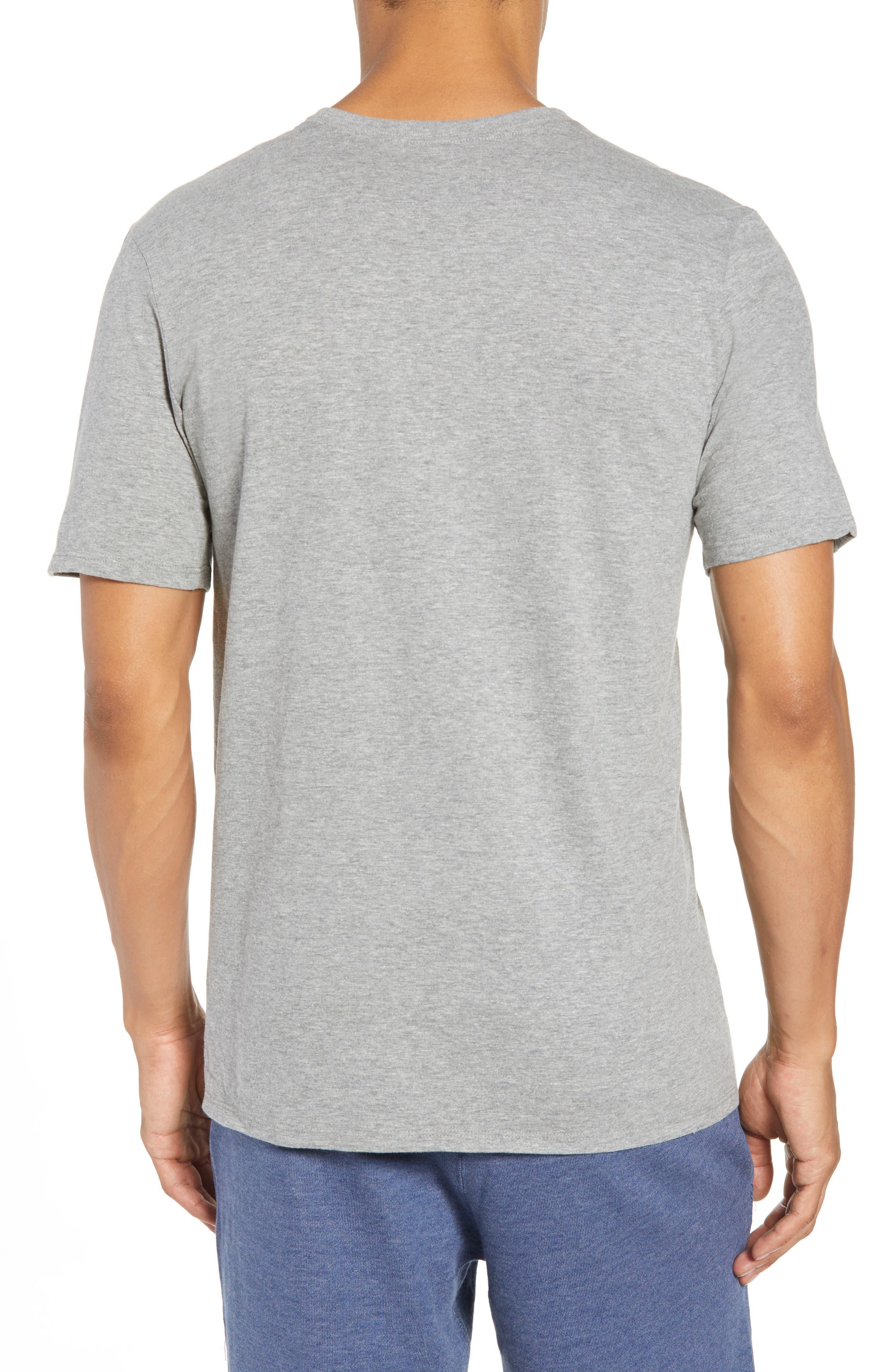 Sportswear More Money T-Shirt,                             Alternate thumbnail 2, color,                             DK GREY HEATHER/ BLACK