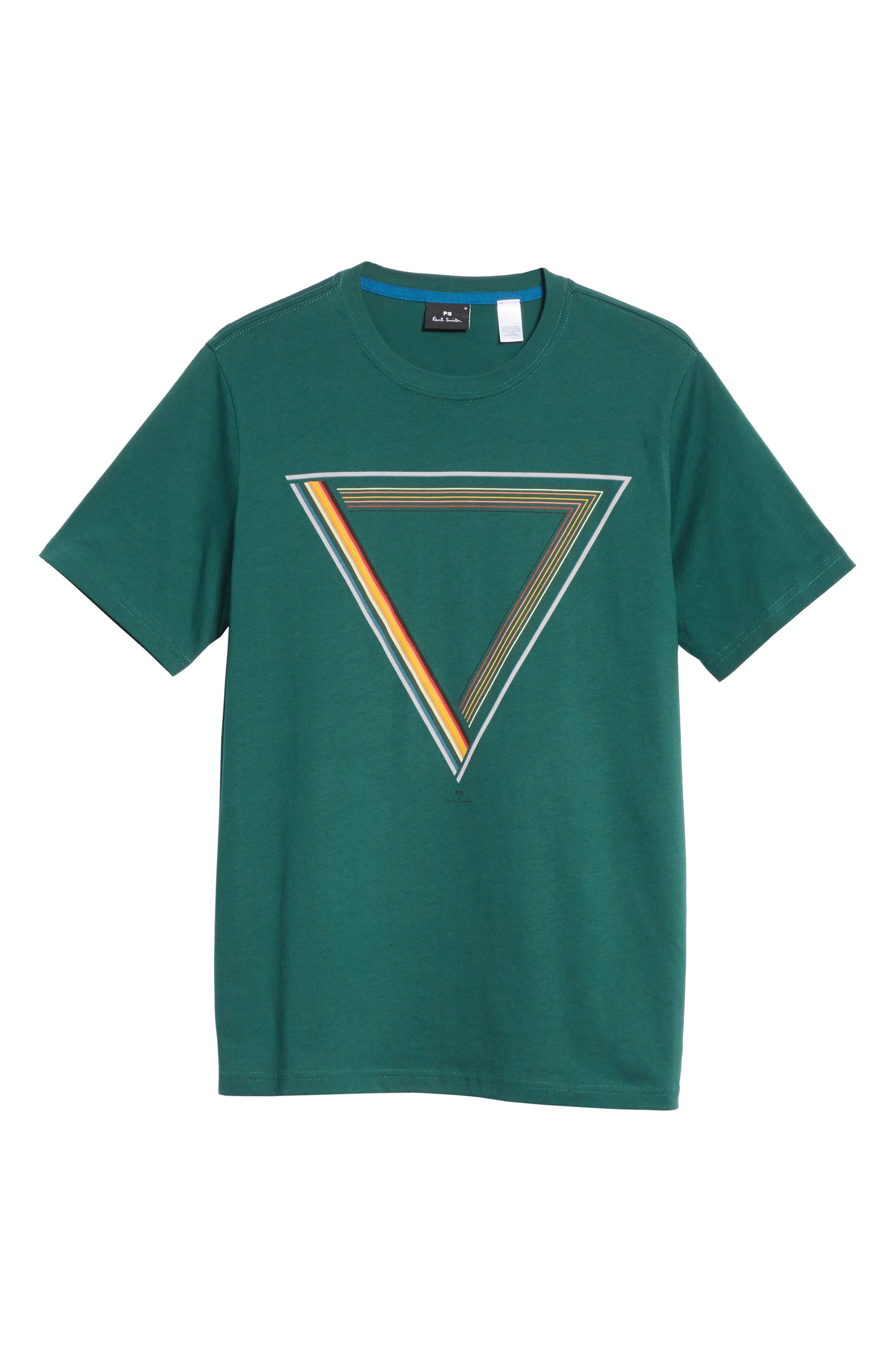 Triangle Graphic T-Shirt,                             Alternate thumbnail 6, color,