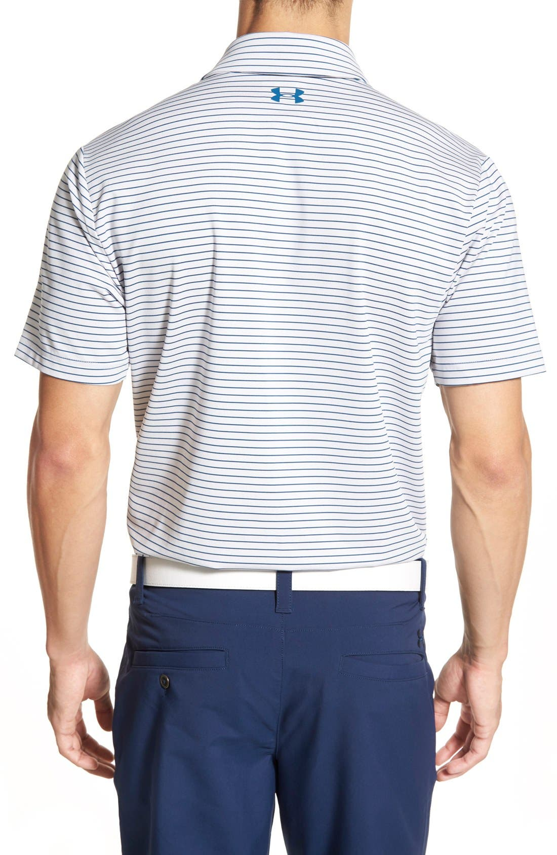 'Playoff' Loose Fit Short Sleeve Polo,                             Alternate thumbnail 132, color,