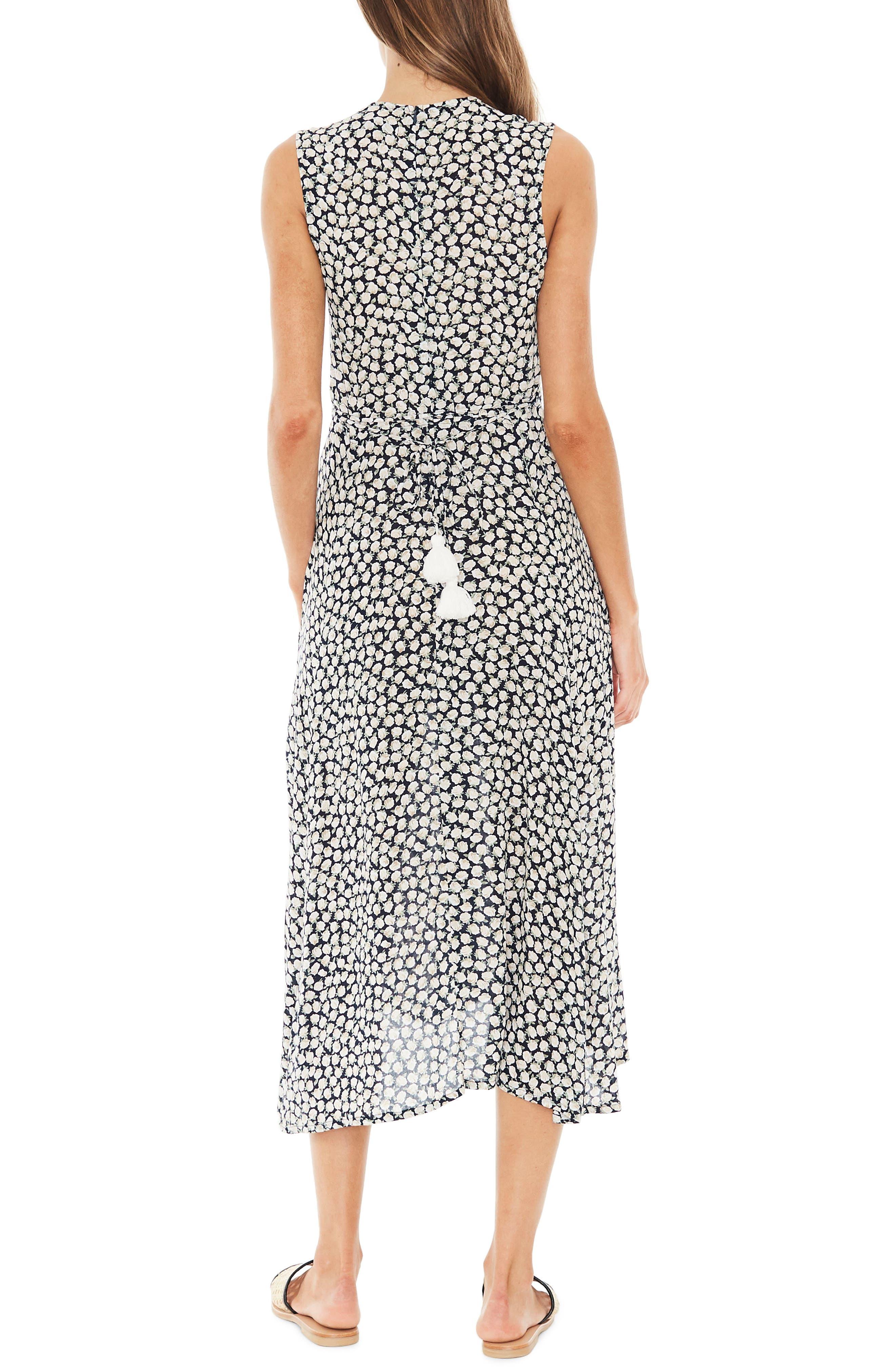 Blohm Print Midi Dress,                             Alternate thumbnail 2, color,                             400