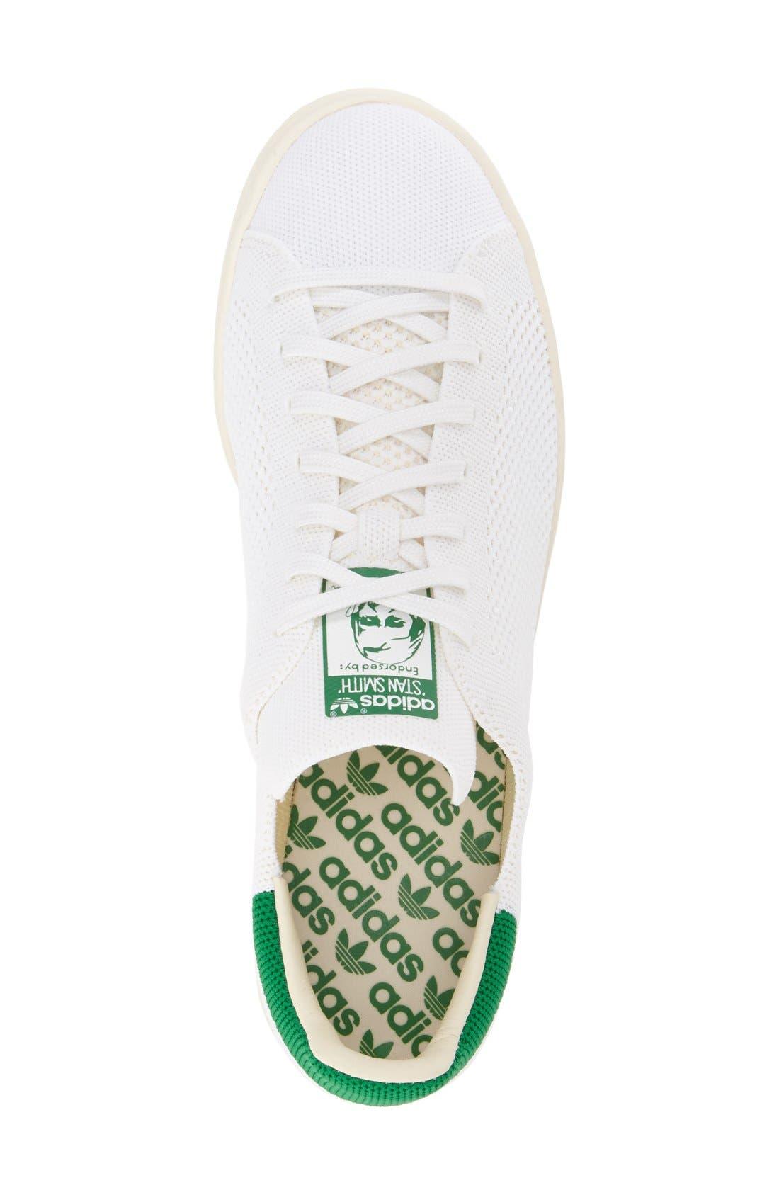 ADIDAS,                             'Stan Smith OG Primeknit' Sneaker,                             Alternate thumbnail 3, color,                             101