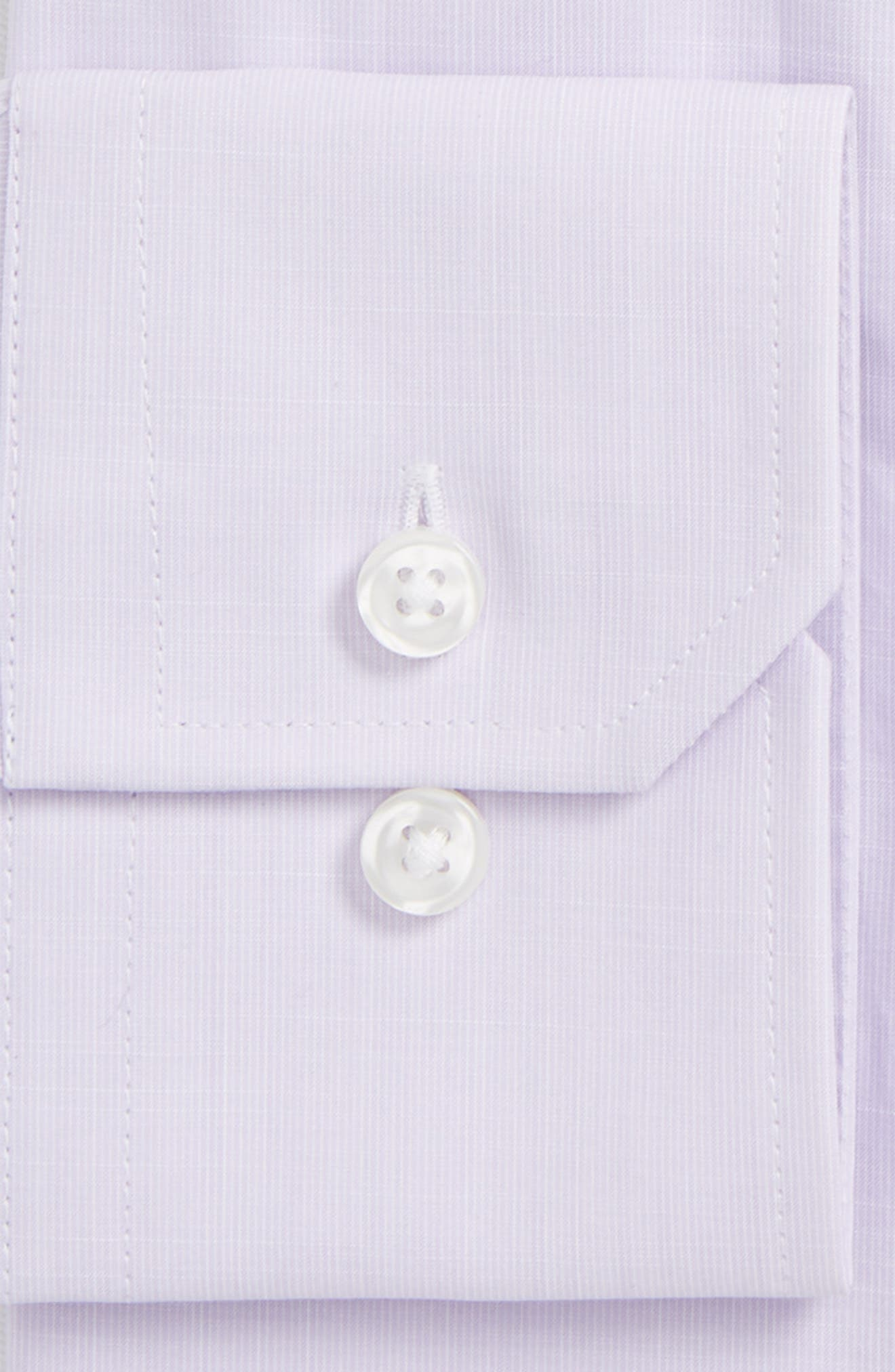Espirit Trim Fit Solid Dress Shirt,                             Alternate thumbnail 2, color,                             530