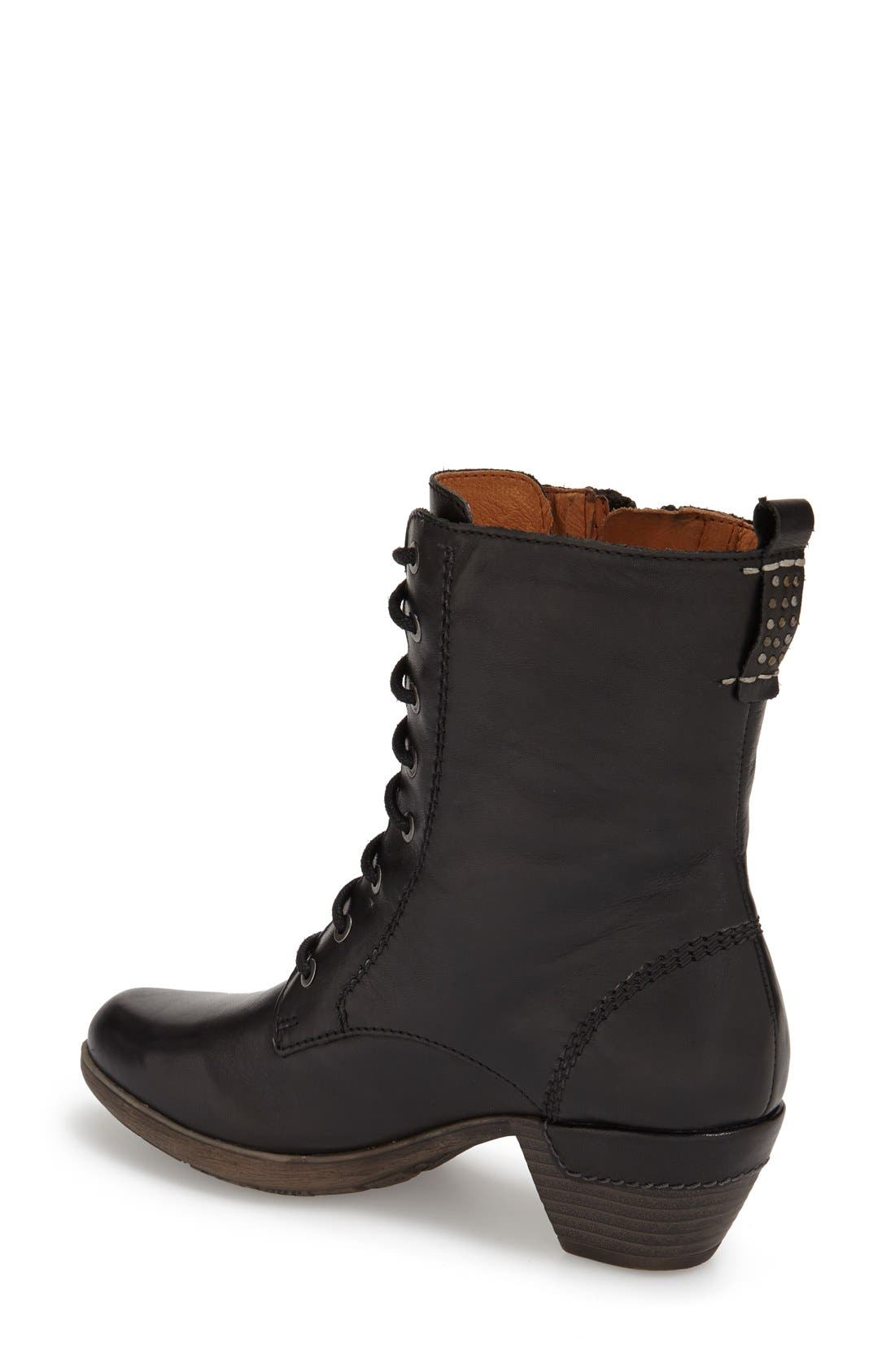 'Rotterdam' Lace-Up Boot,                             Alternate thumbnail 5, color,