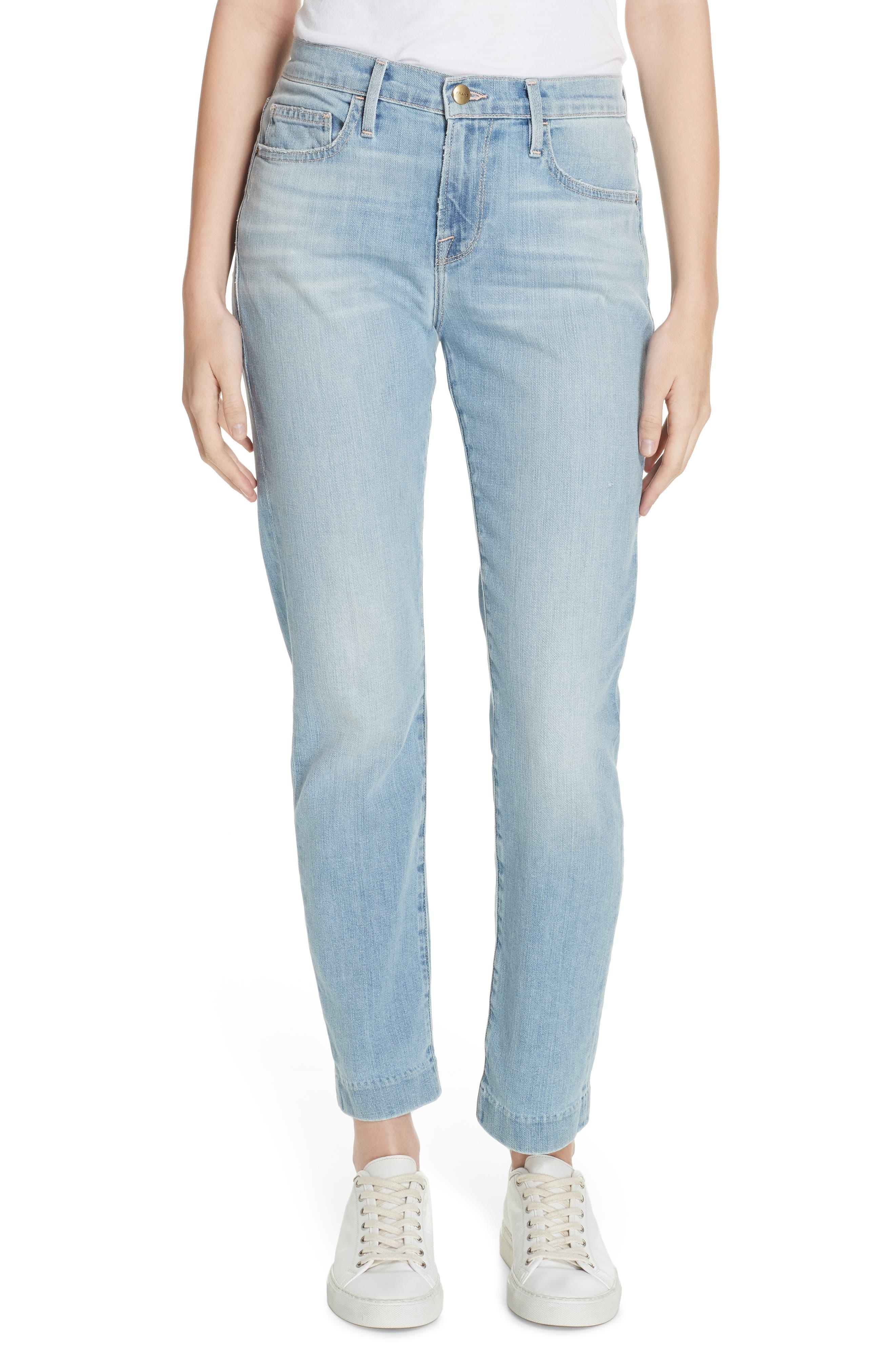 Le Boy High Waist Jeans,                             Main thumbnail 1, color,                             KEATON