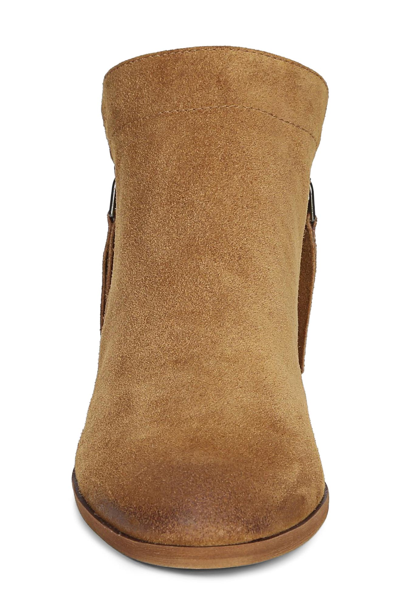 Packer Bootie,                             Alternate thumbnail 4, color,                             LUGGAGE SUEDE LEATHER