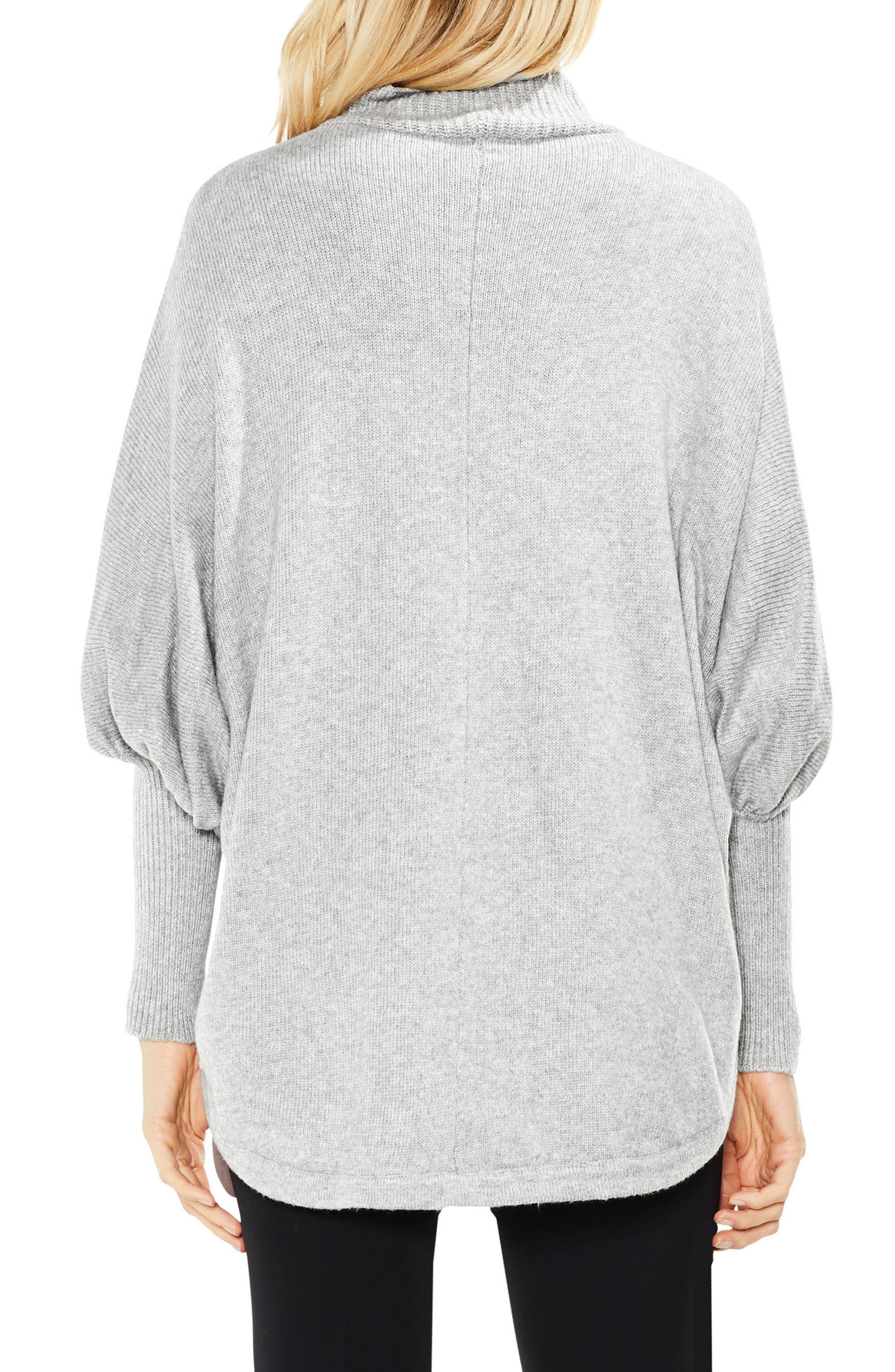 Dolman Sleeve Colorblock Sweater,                             Alternate thumbnail 5, color,