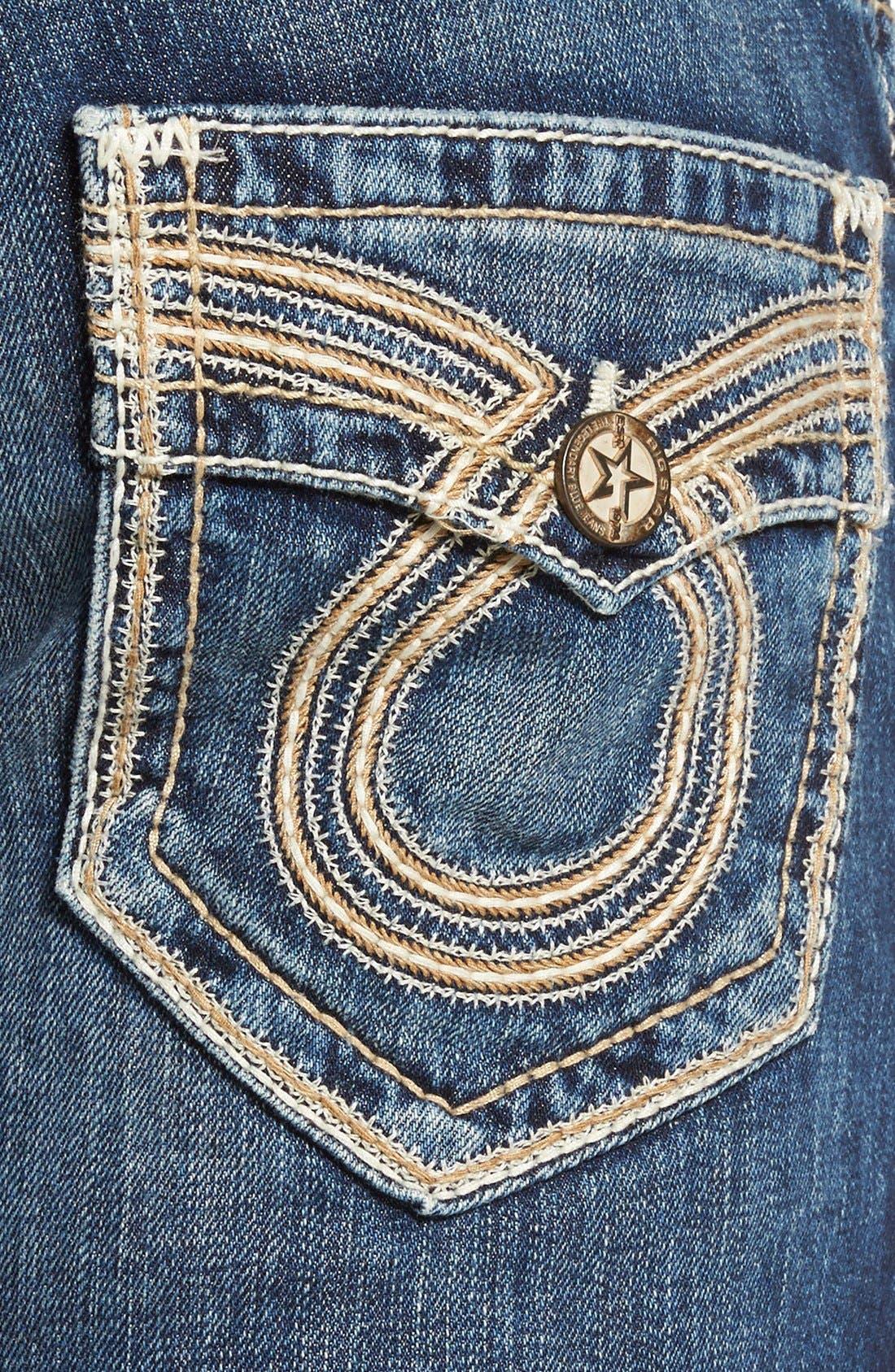 'Union' Straight Leg Jeans,                             Alternate thumbnail 4, color,                             423