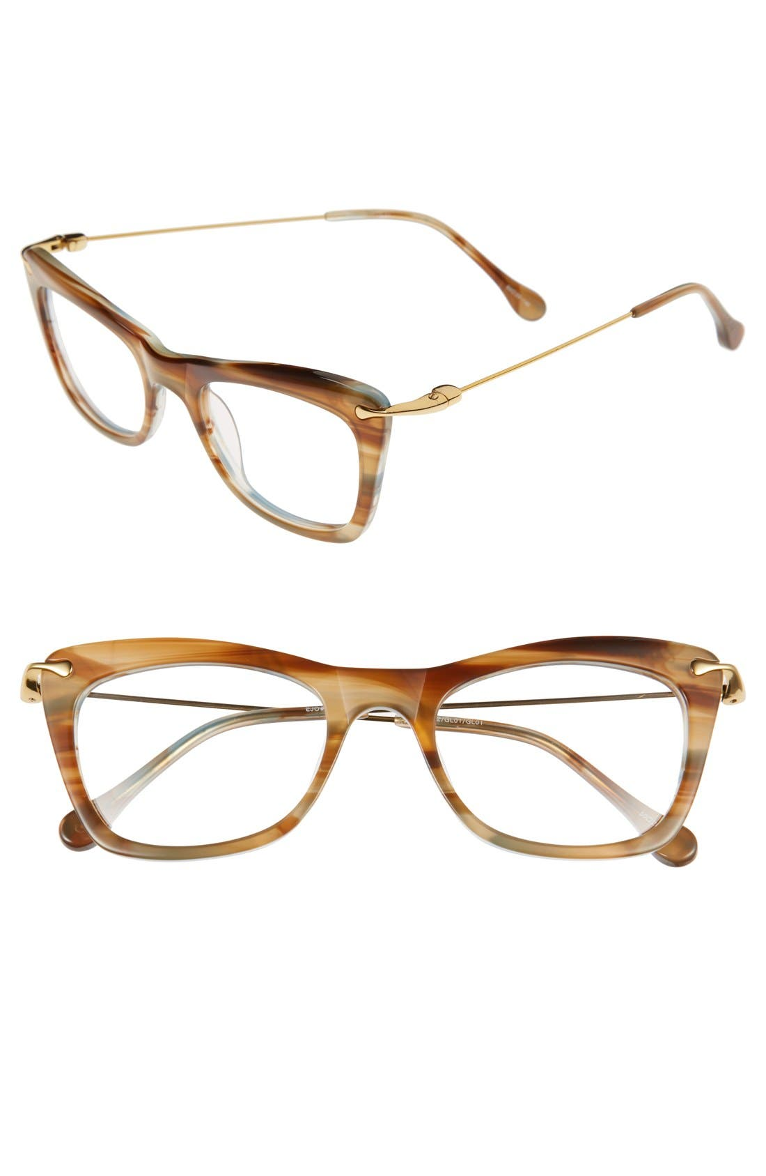 'Chrystie' 50mm Optical Glasses,                             Main thumbnail 3, color,