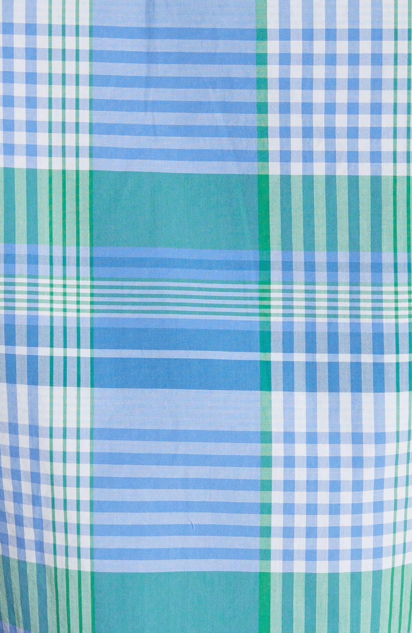 Solid & Plaid Woven Shirt,                             Alternate thumbnail 5, color,                             470
