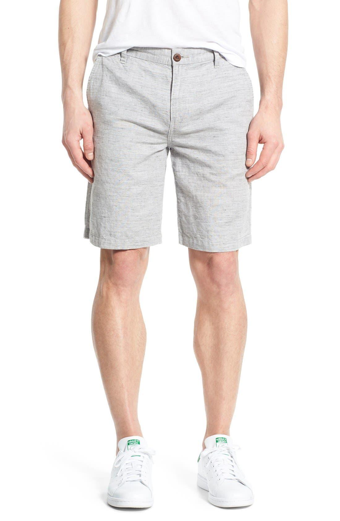 'Thompson' Slim Fit Shorts,                             Main thumbnail 1, color,                             020