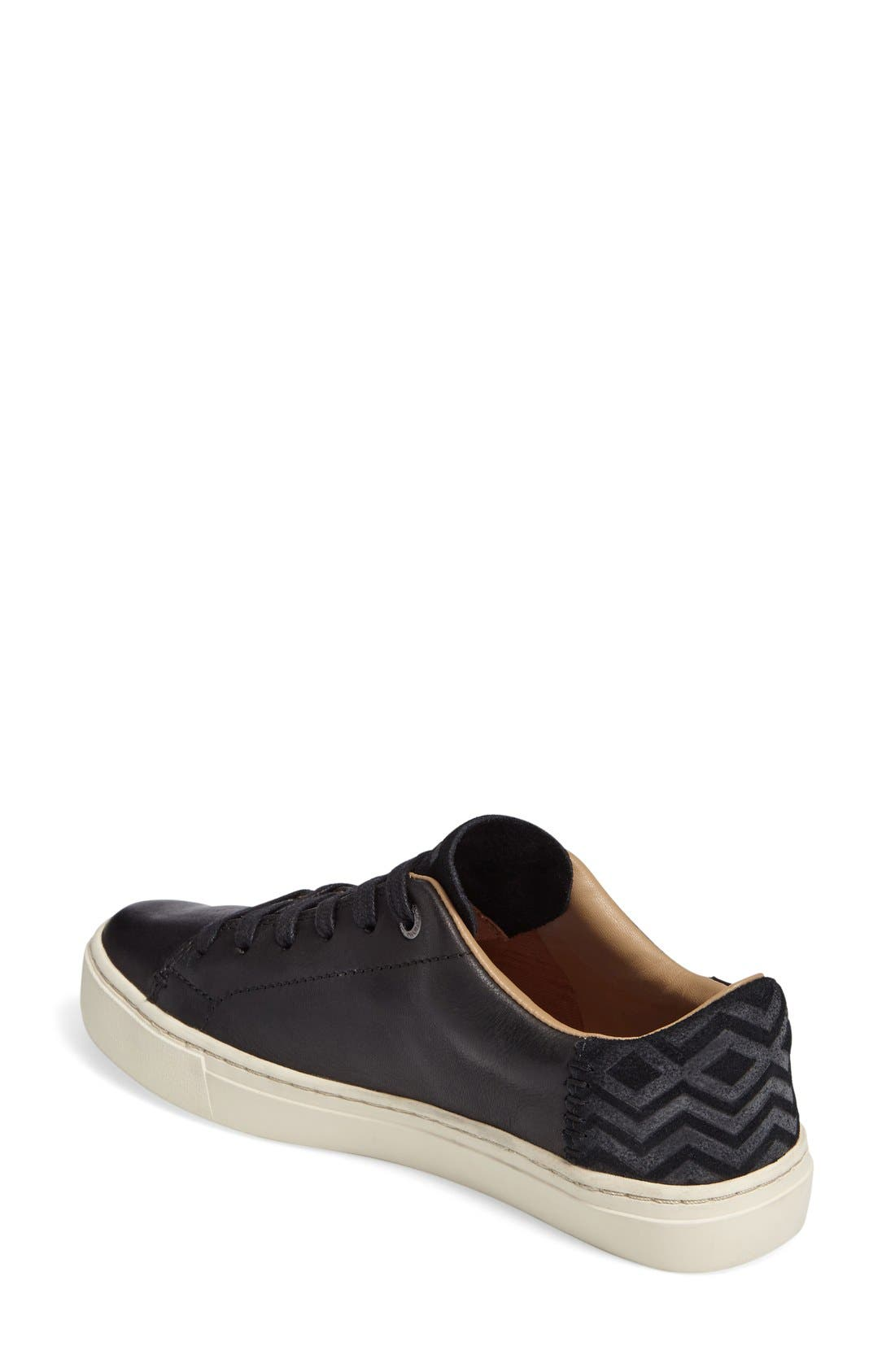 TOMS,                             Lenox Sneaker,                             Alternate thumbnail 3, color,                             001