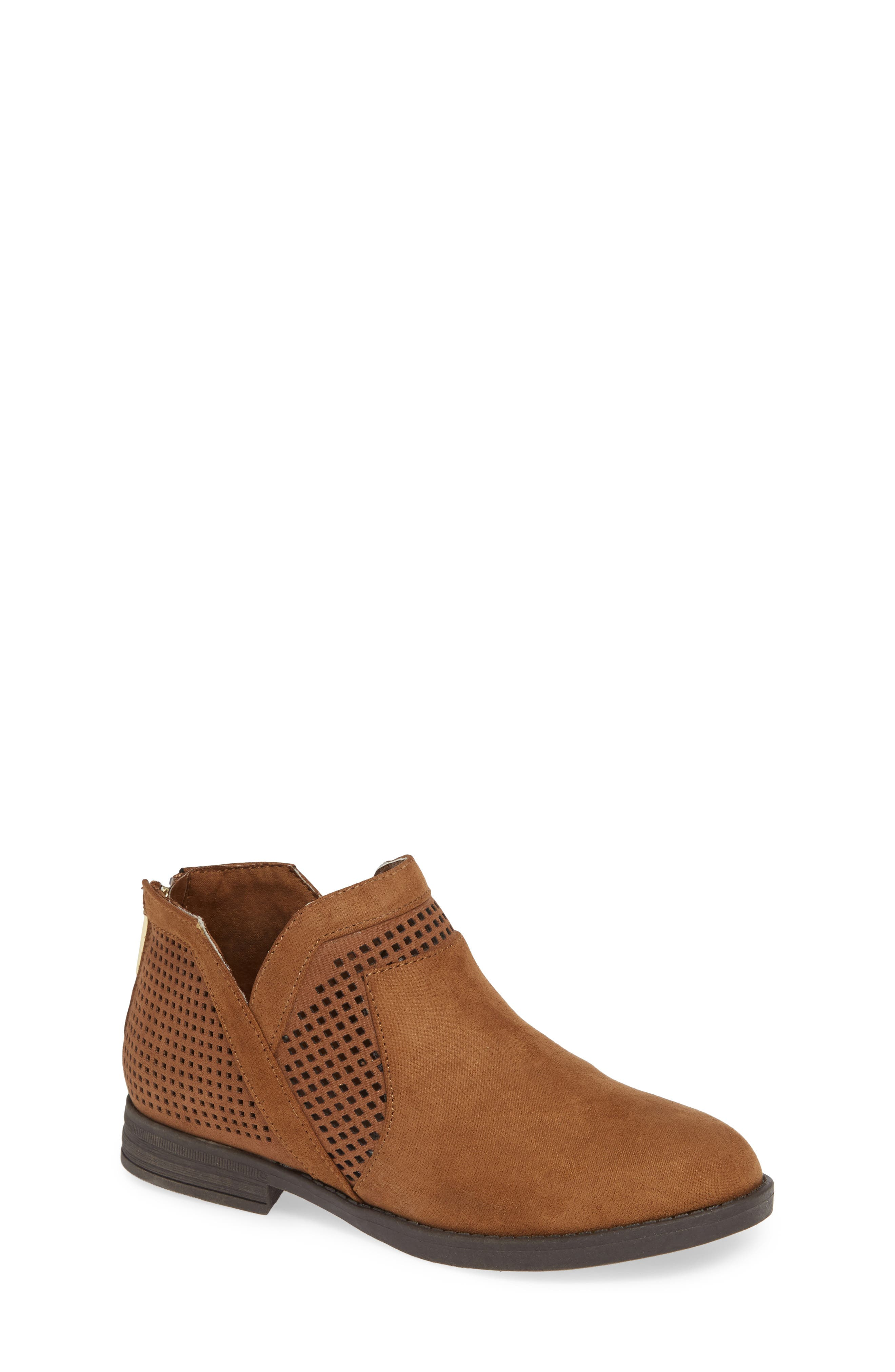 Wild Westy Perforated Bootie,                             Main thumbnail 1, color,                             206