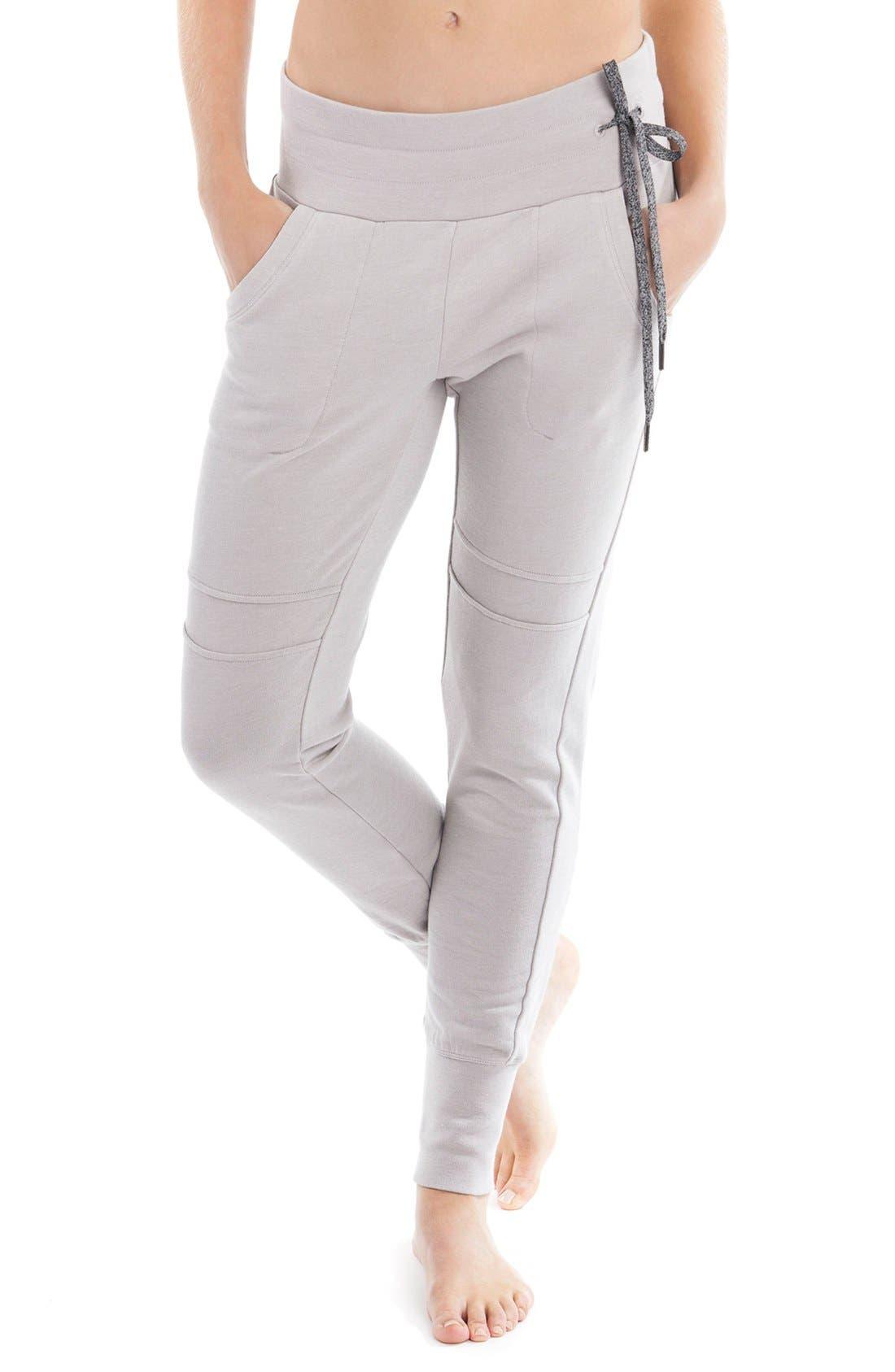 'Felicia' Fleece Pants,                             Main thumbnail 1, color,                             031