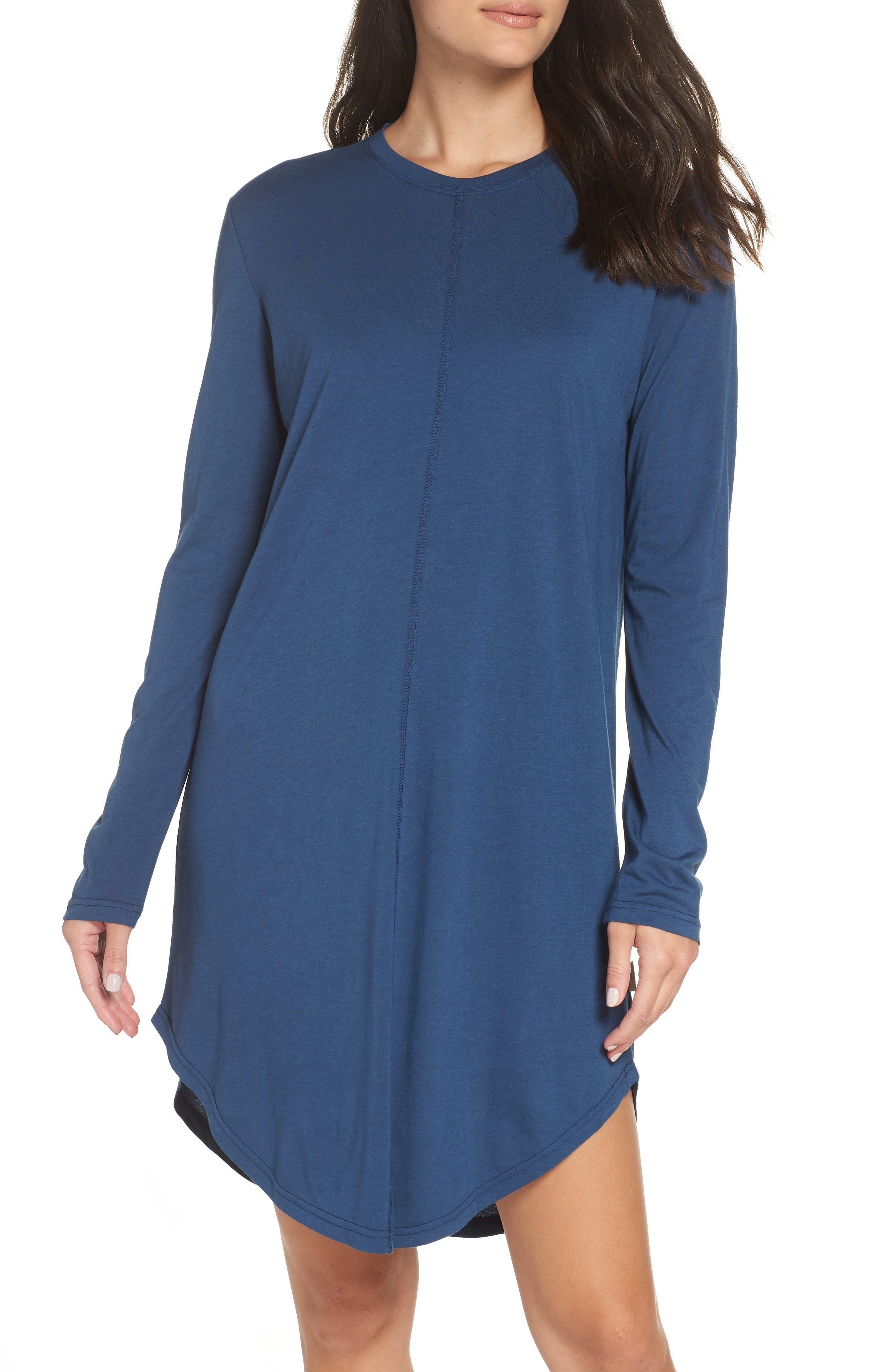 Chalmers Wednesday Sleep Shirt, Blue