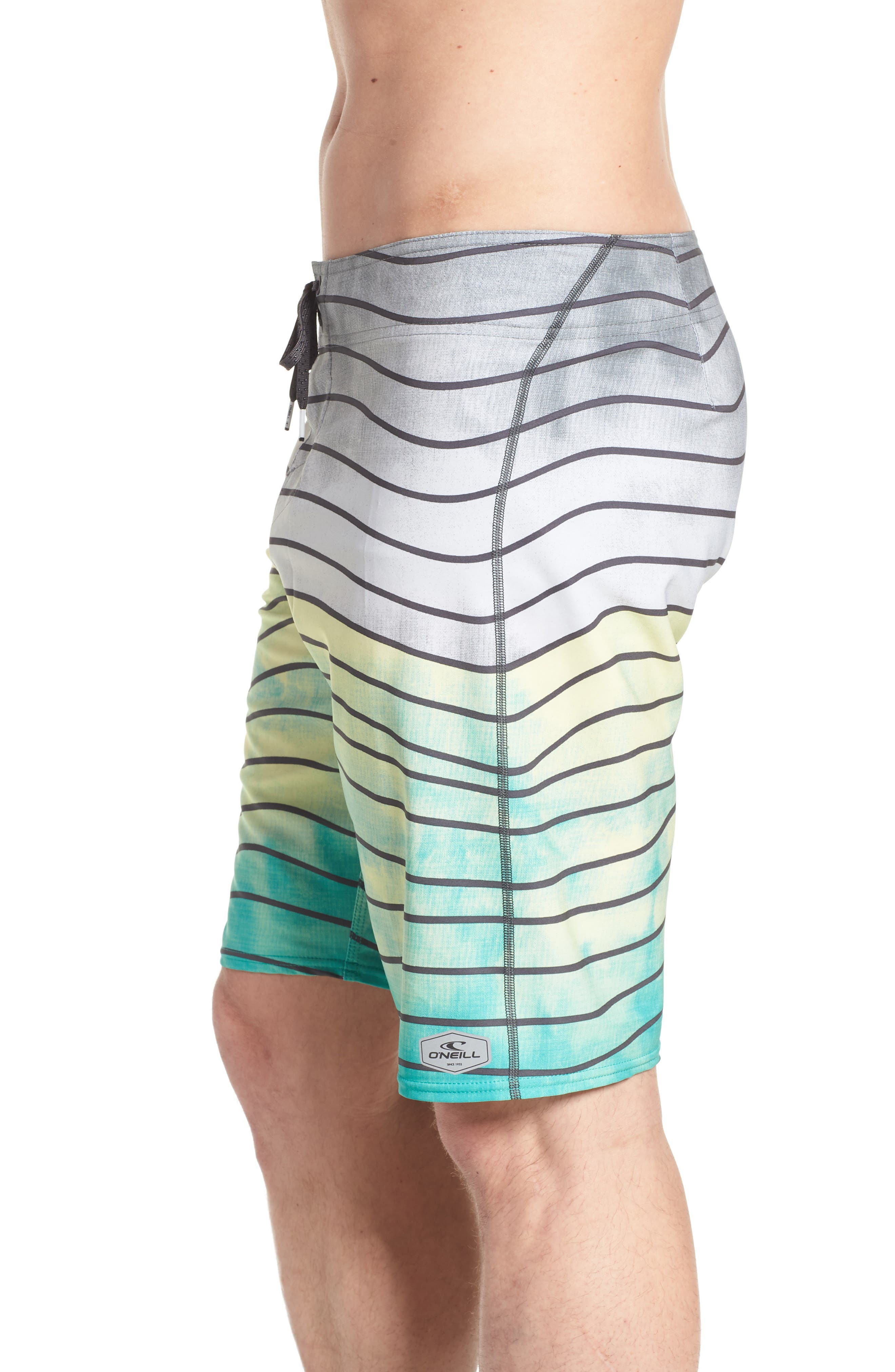 Hyperfreak Swell Board Shorts,                             Alternate thumbnail 4, color,                             400